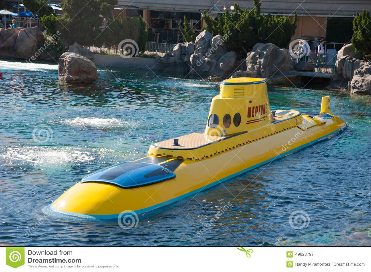 Disneyland S Submarine Ride Editorial Photography Image