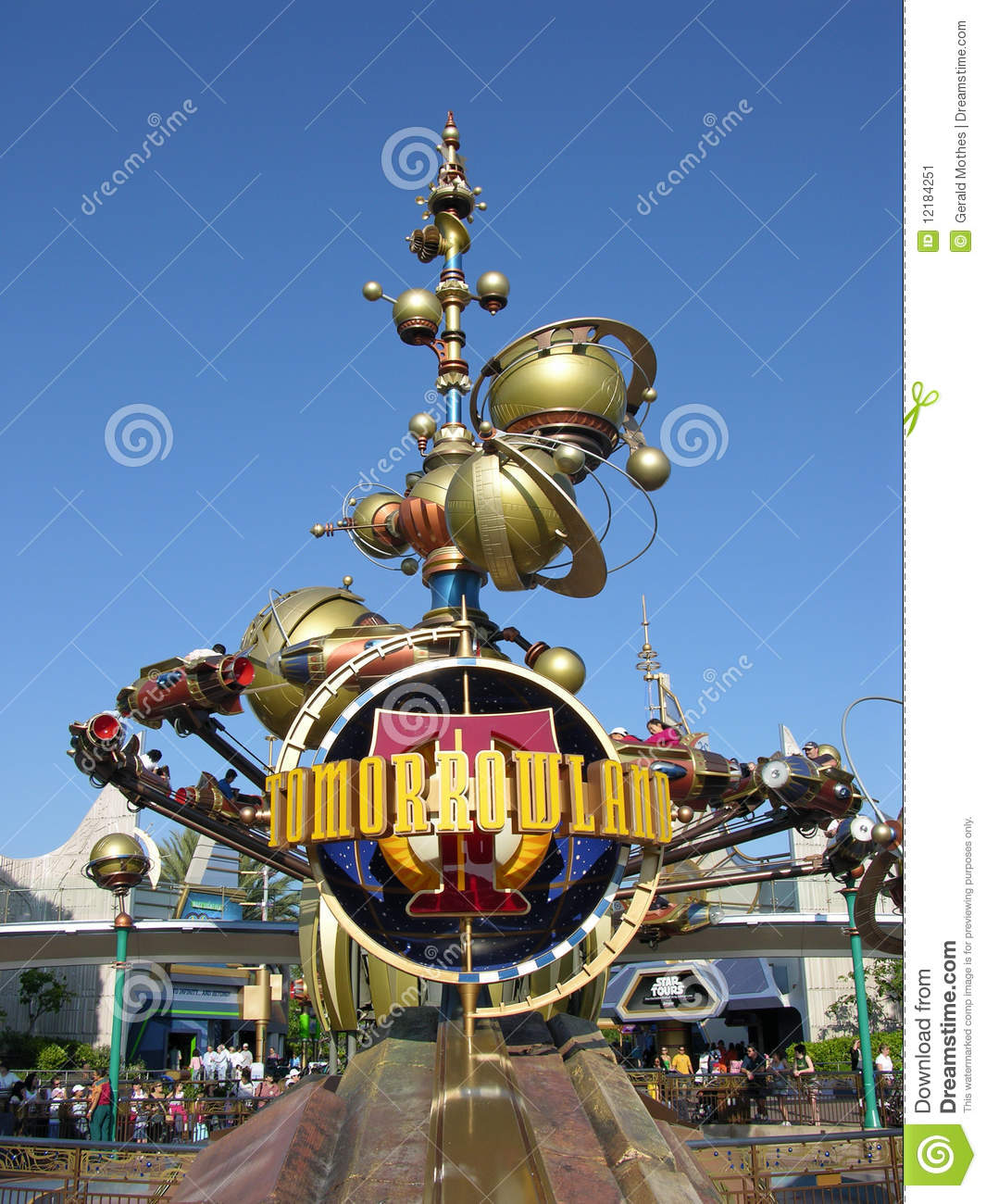 Disneyland s tomorrowland