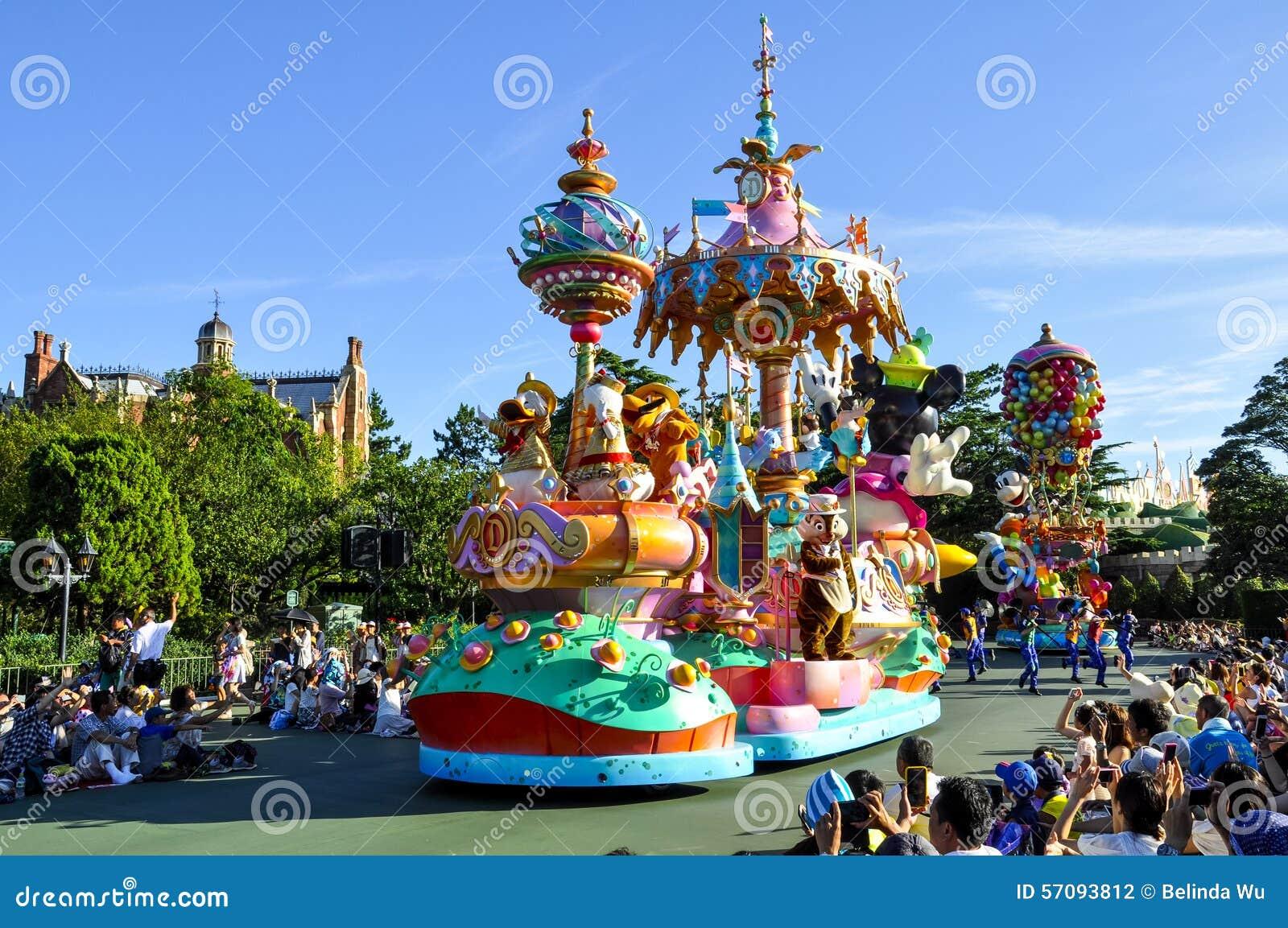 Disneyland ståtar