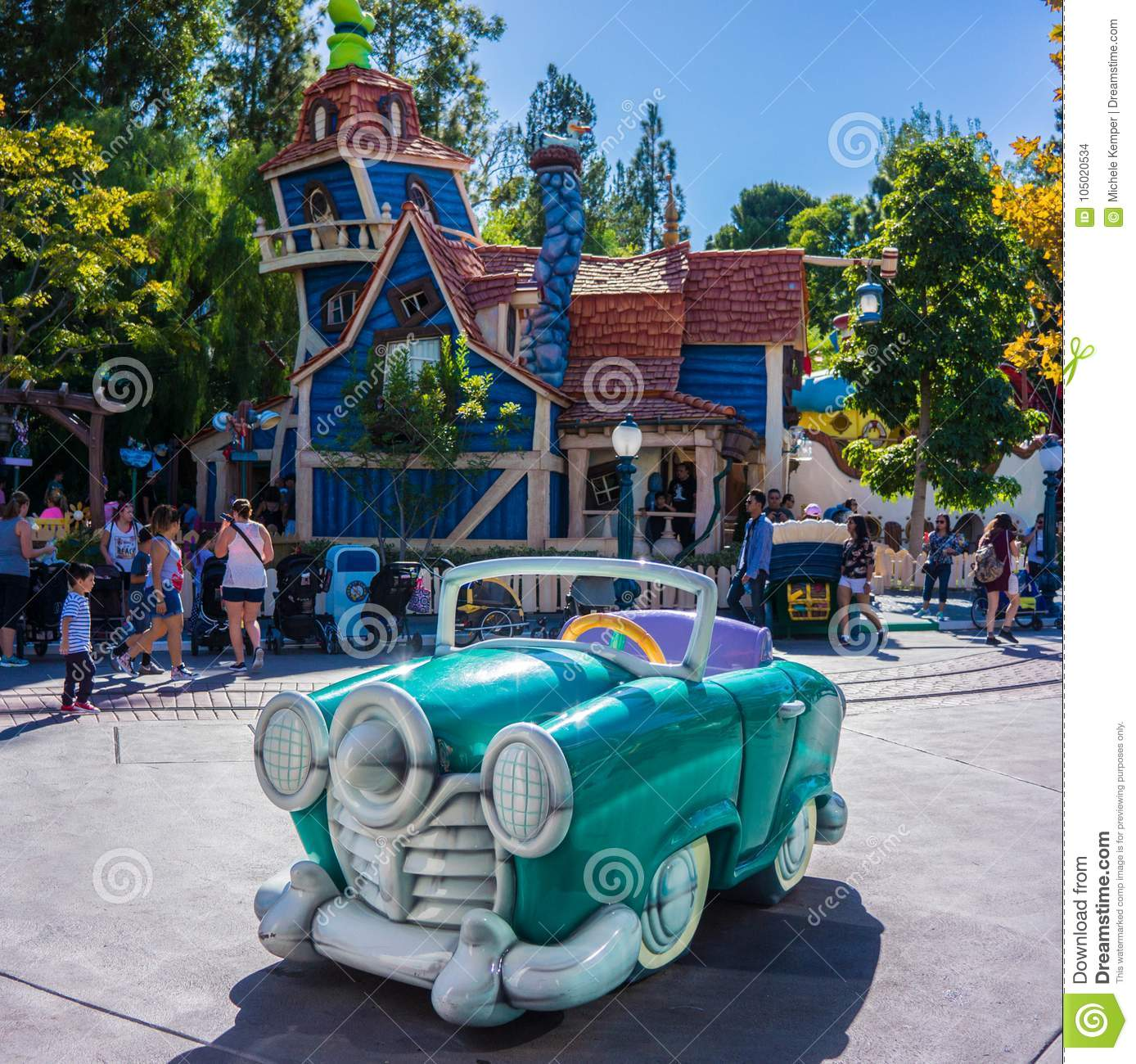 Disneyland ToonTown Anaheim California