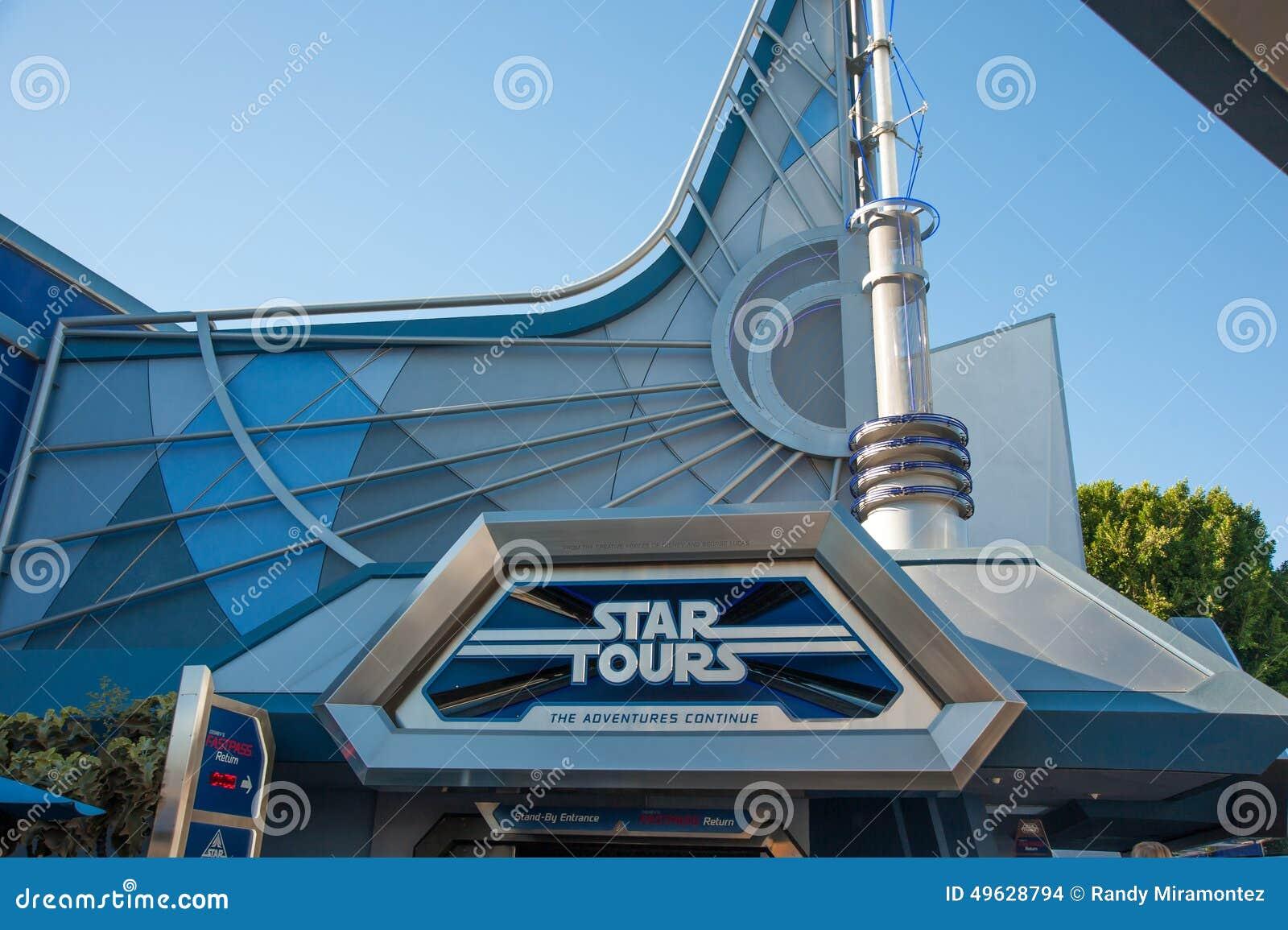 Disneylands stjärna Tours