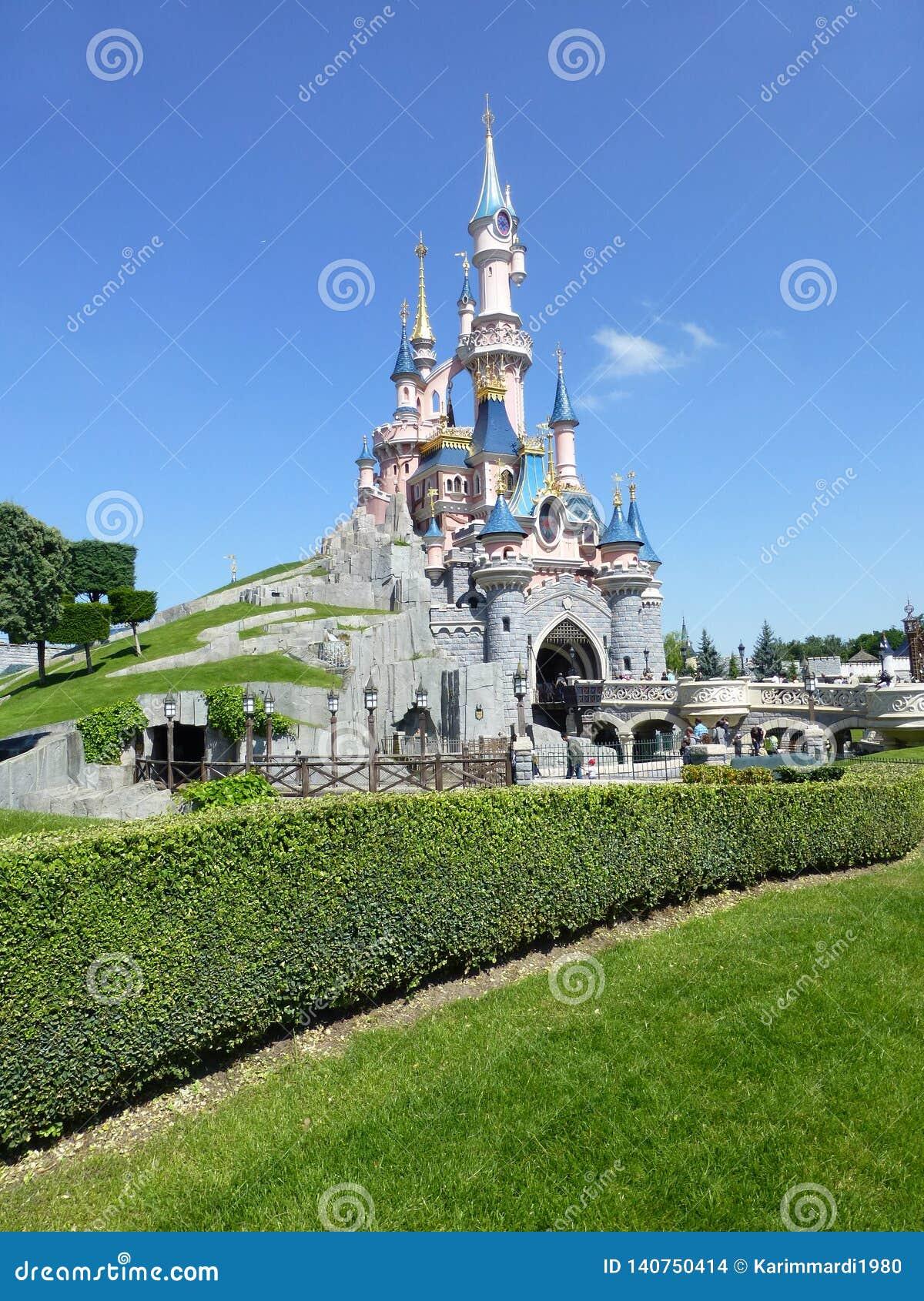 Disneylandya París décimo quinto Anniversarry