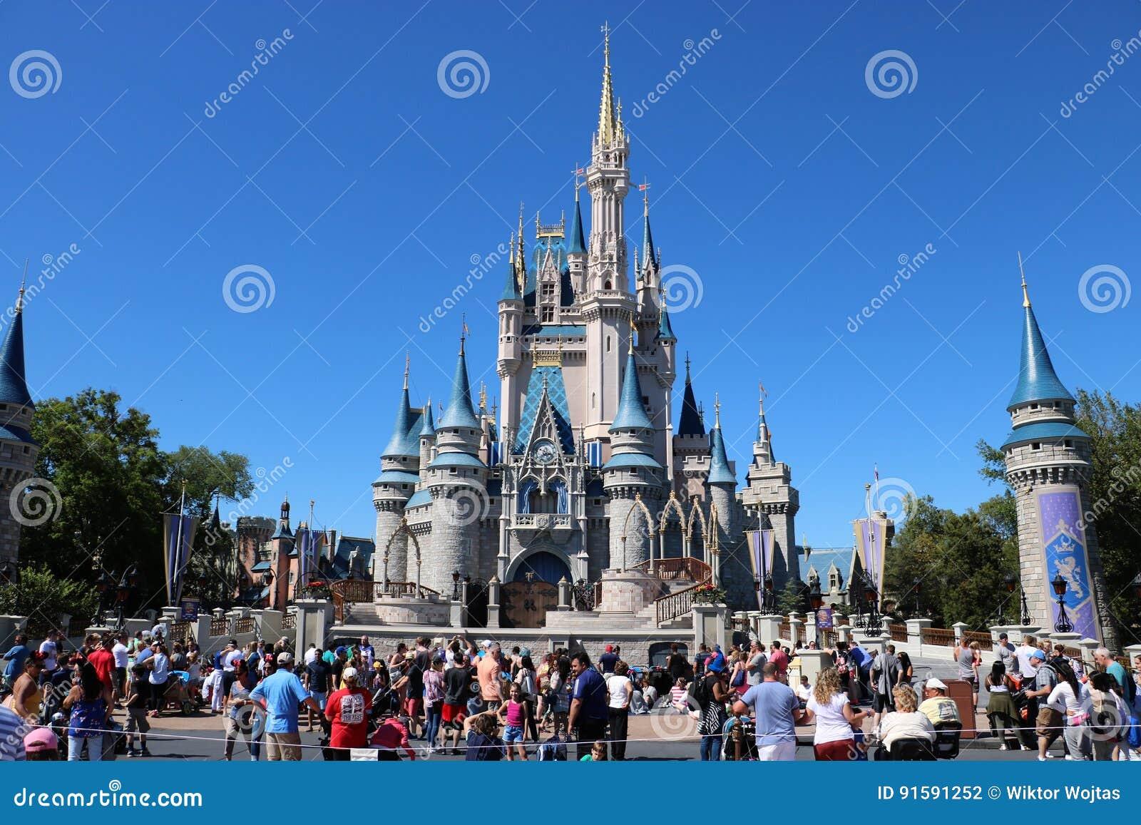 Disneyworld królestwa Magiczny kasztel