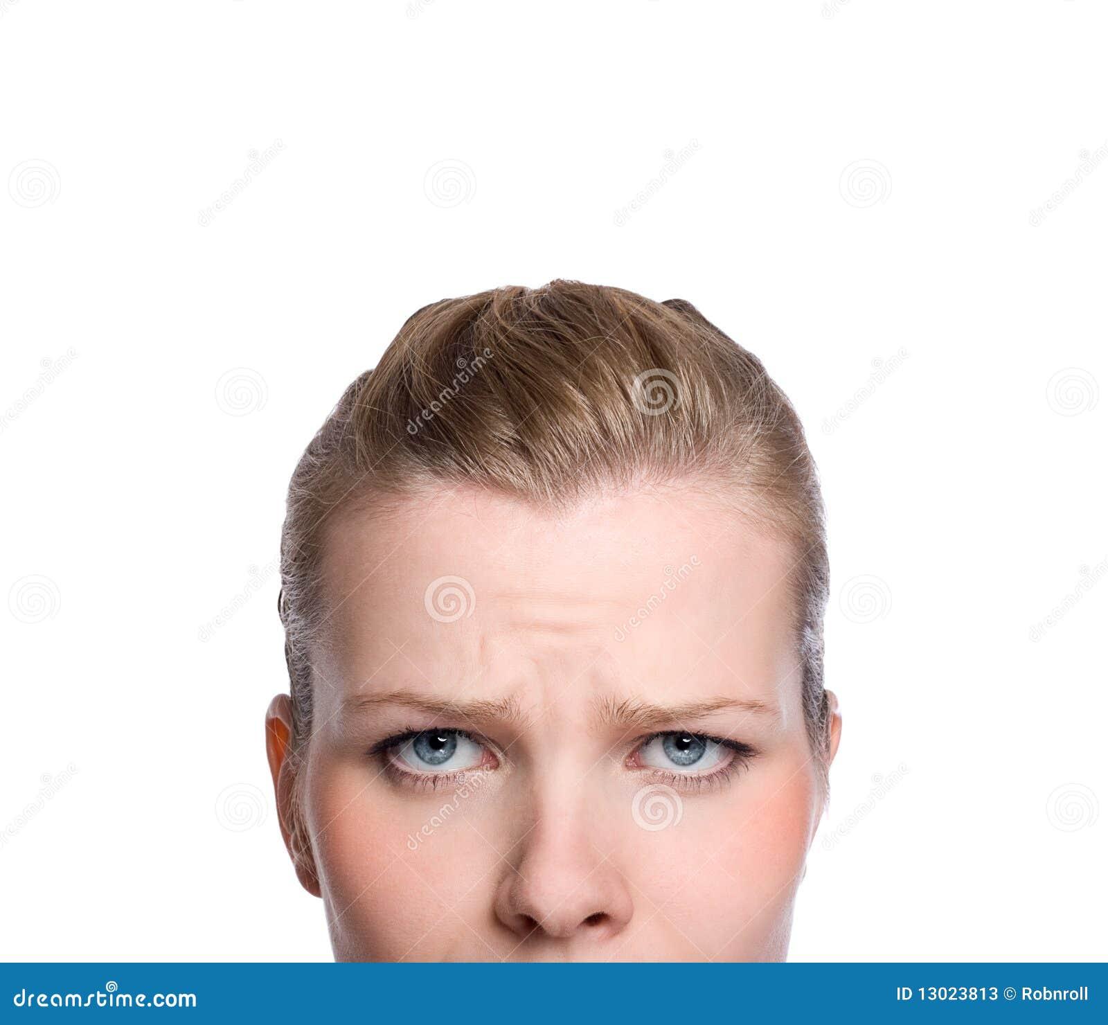 parte superior adulto facial