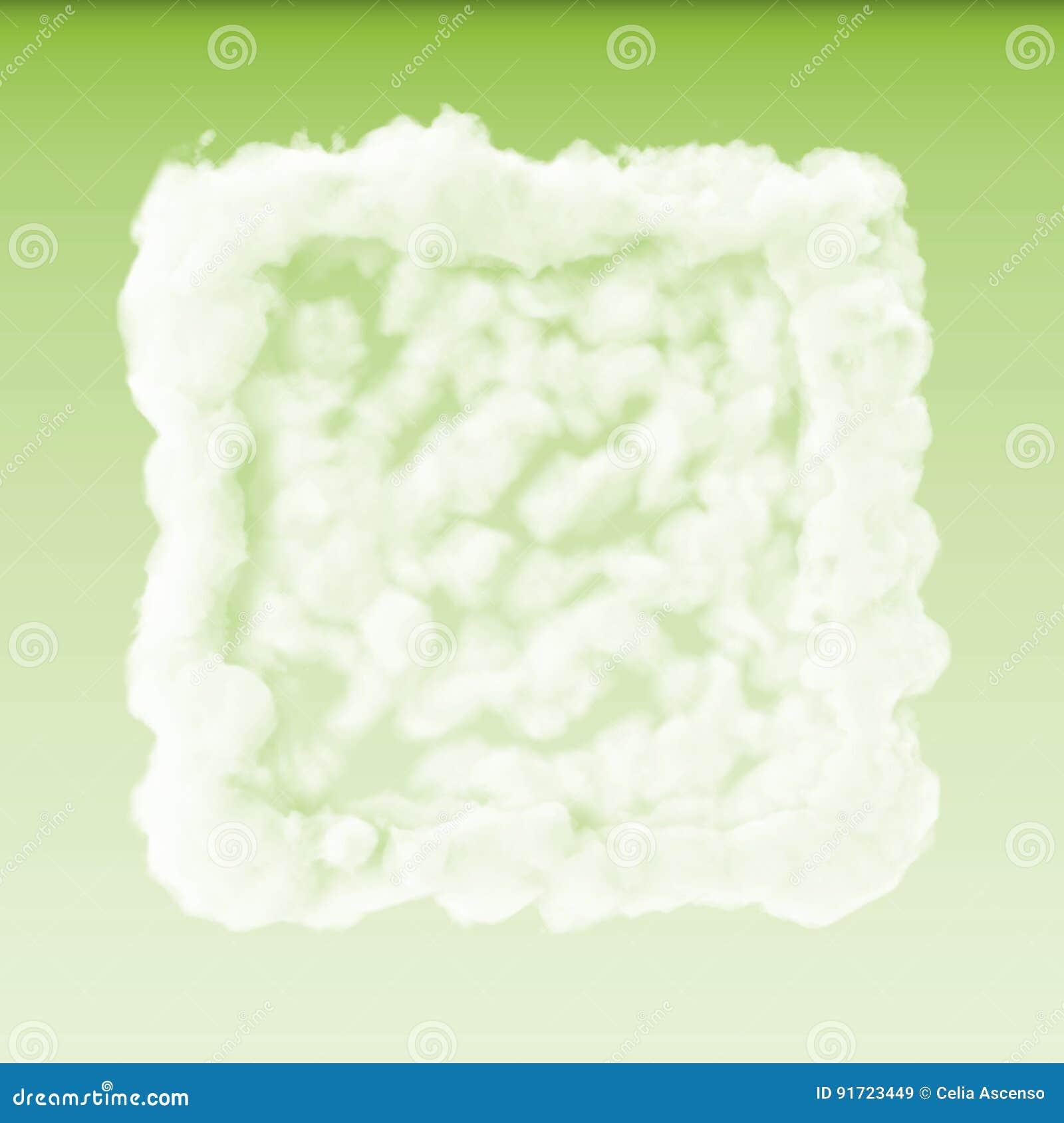 Disparaissent le nuage vert de boîte