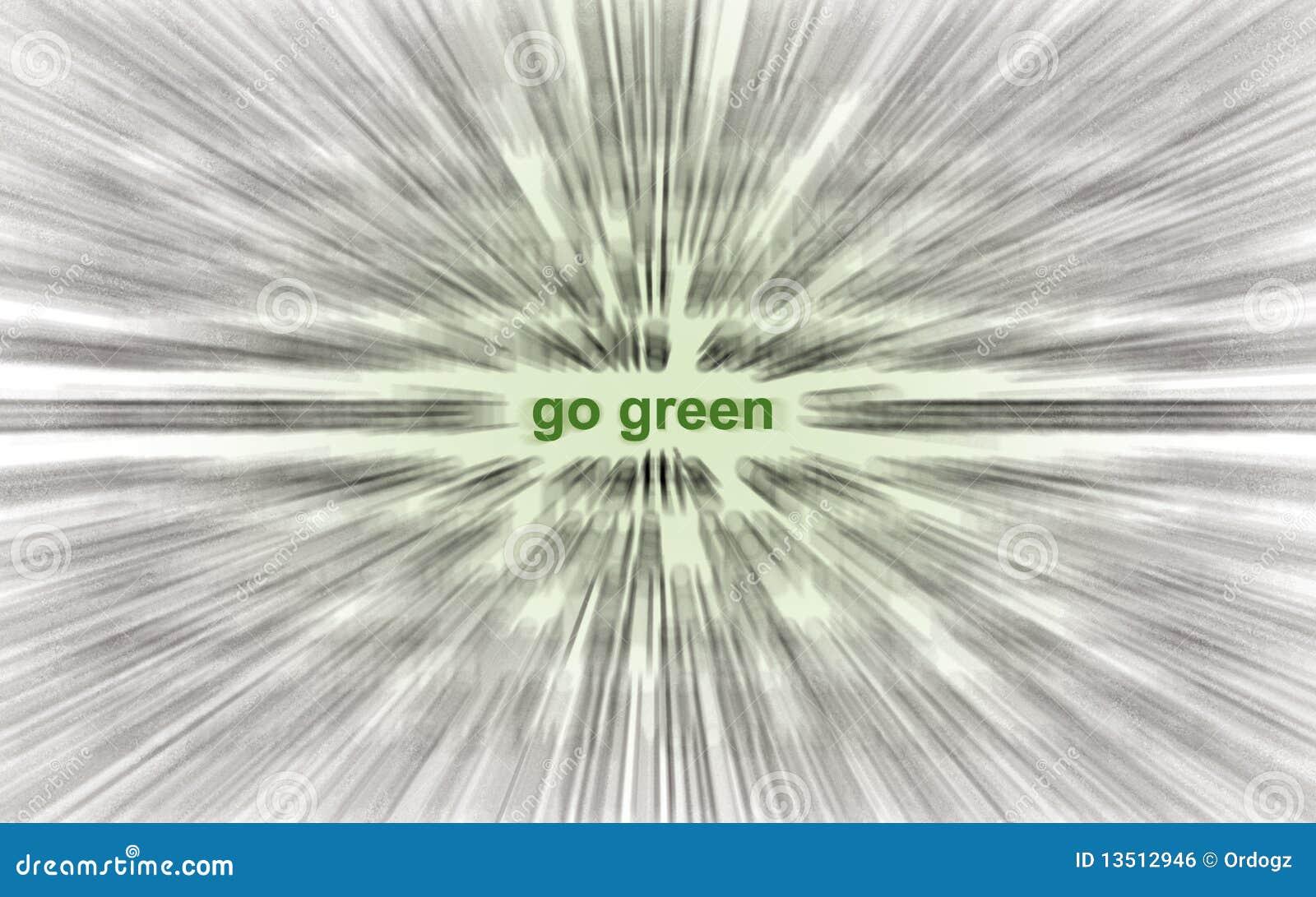 Disparaissent le vert !