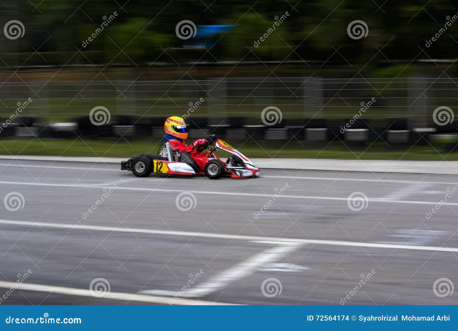 Disparaissent les sports de emballage de kart