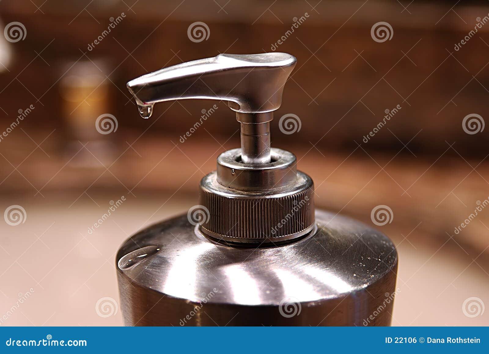 Dispensador del jabón