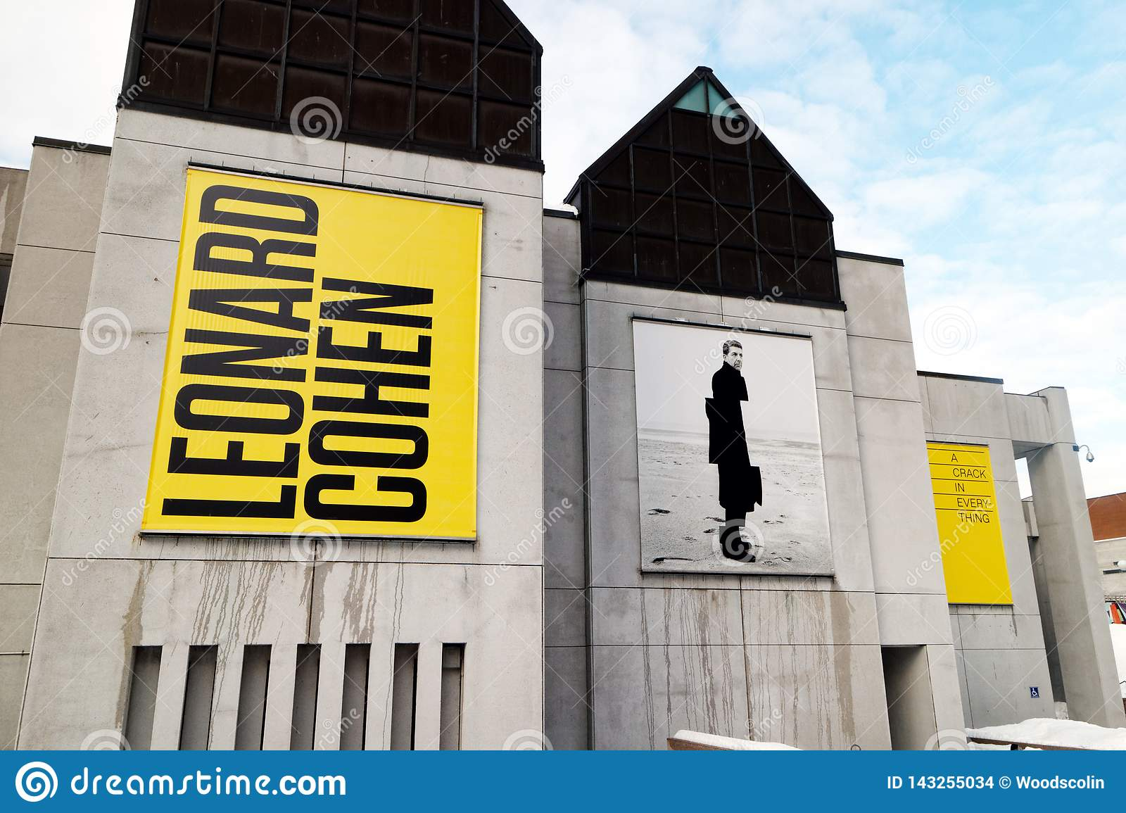 A Leonard Cohen exhibition in Montreal