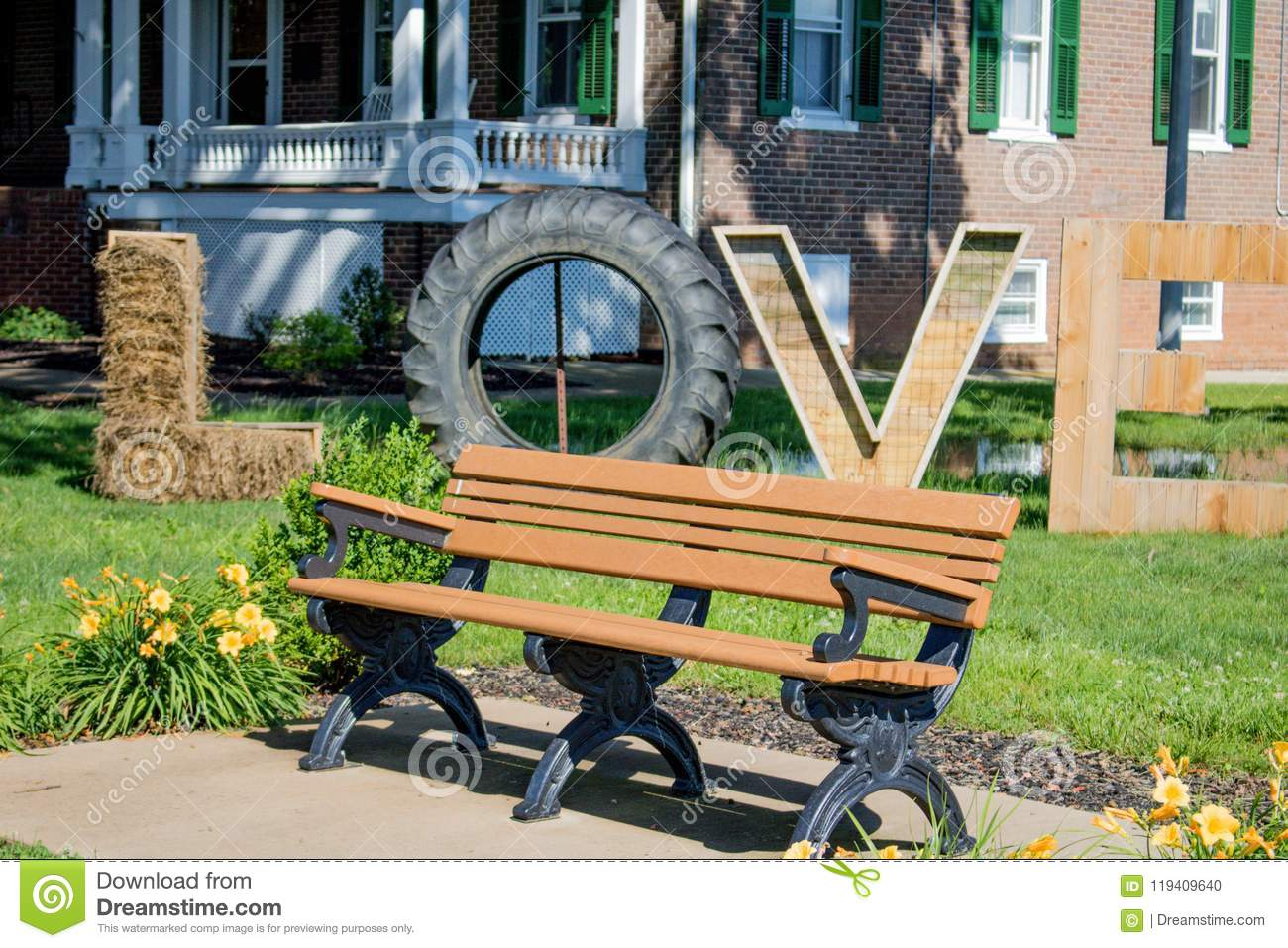 Outstanding Virginia Is For Lovers Stock Photo Image Of Love Flowers Evergreenethics Interior Chair Design Evergreenethicsorg