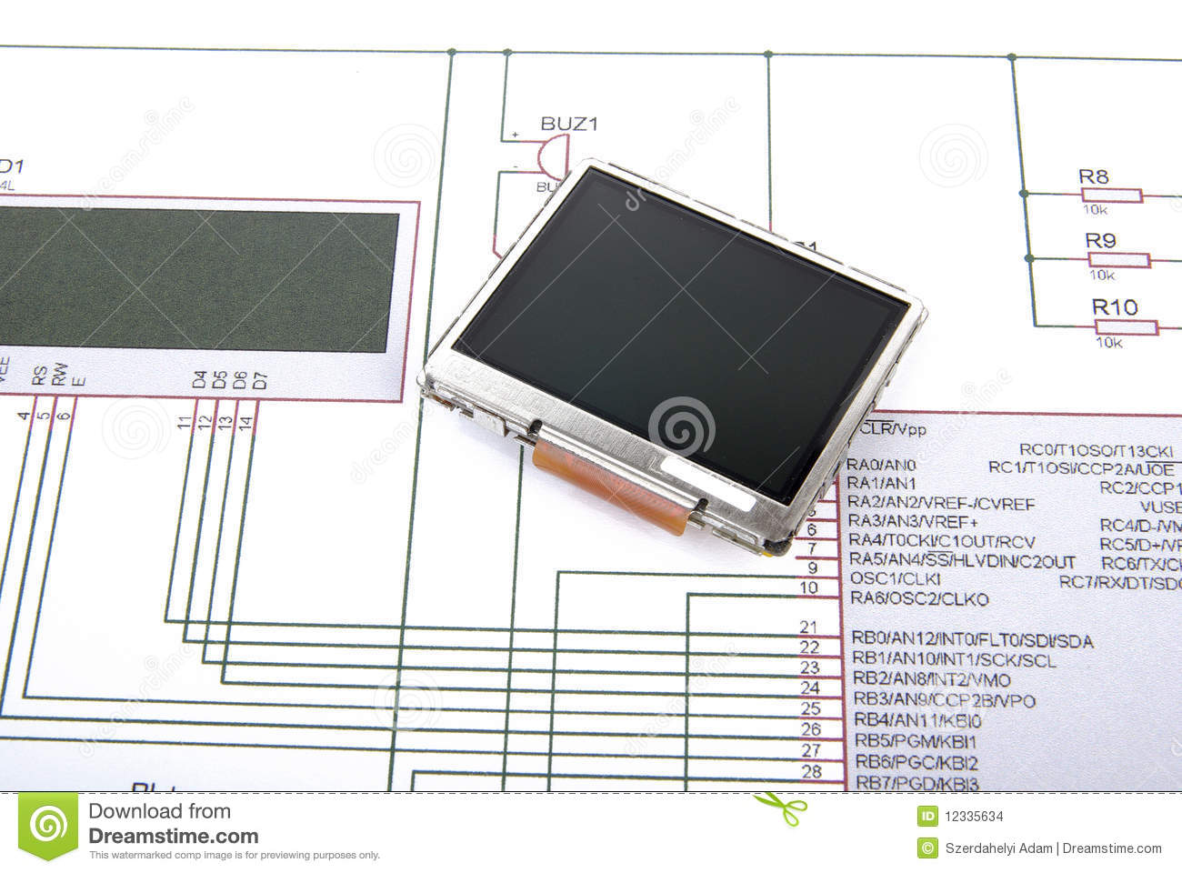 display schematic diagram 12335634 display and schematic diagram stock photo image of electrician