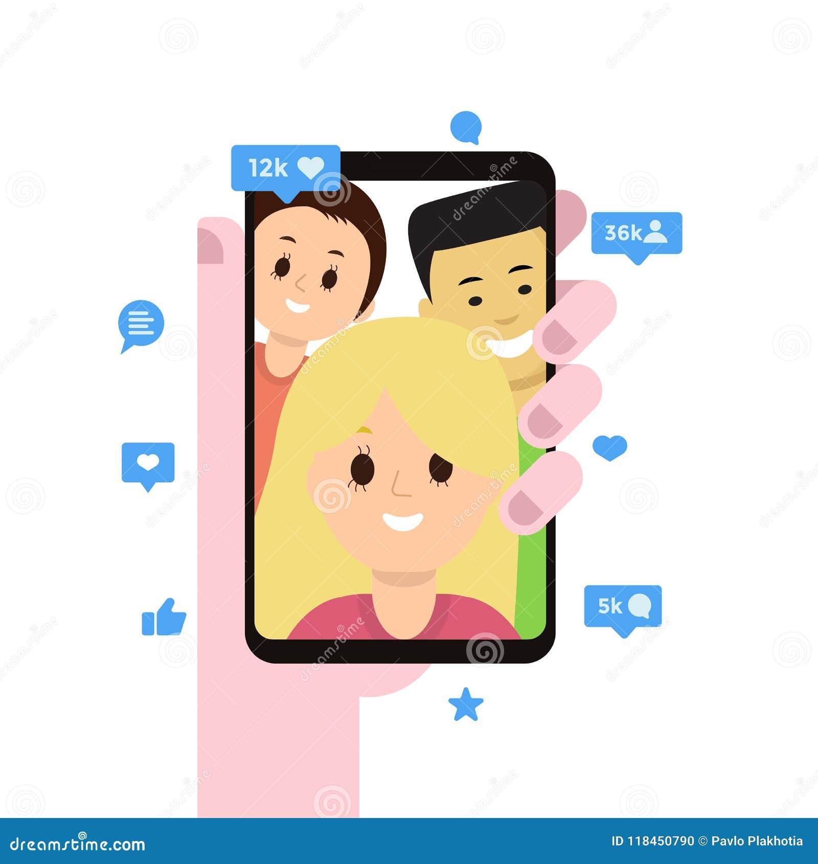 social friendship app
