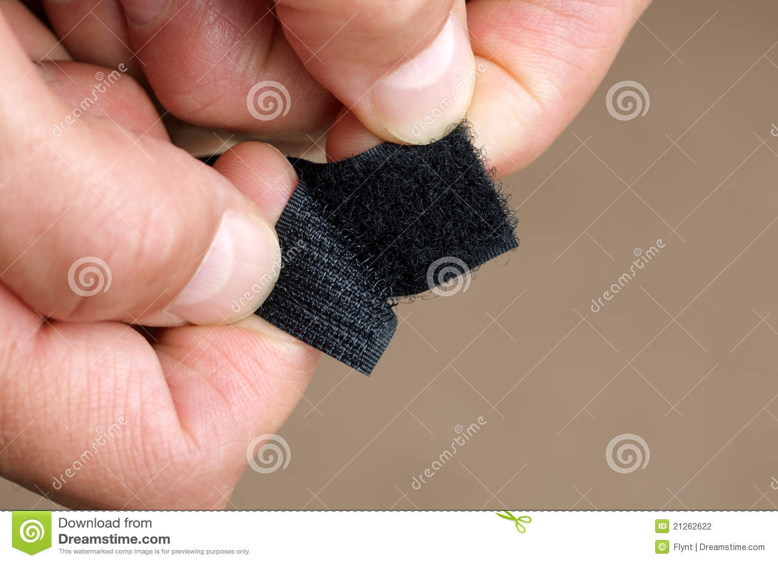 Dispositif de fixation de Velcro