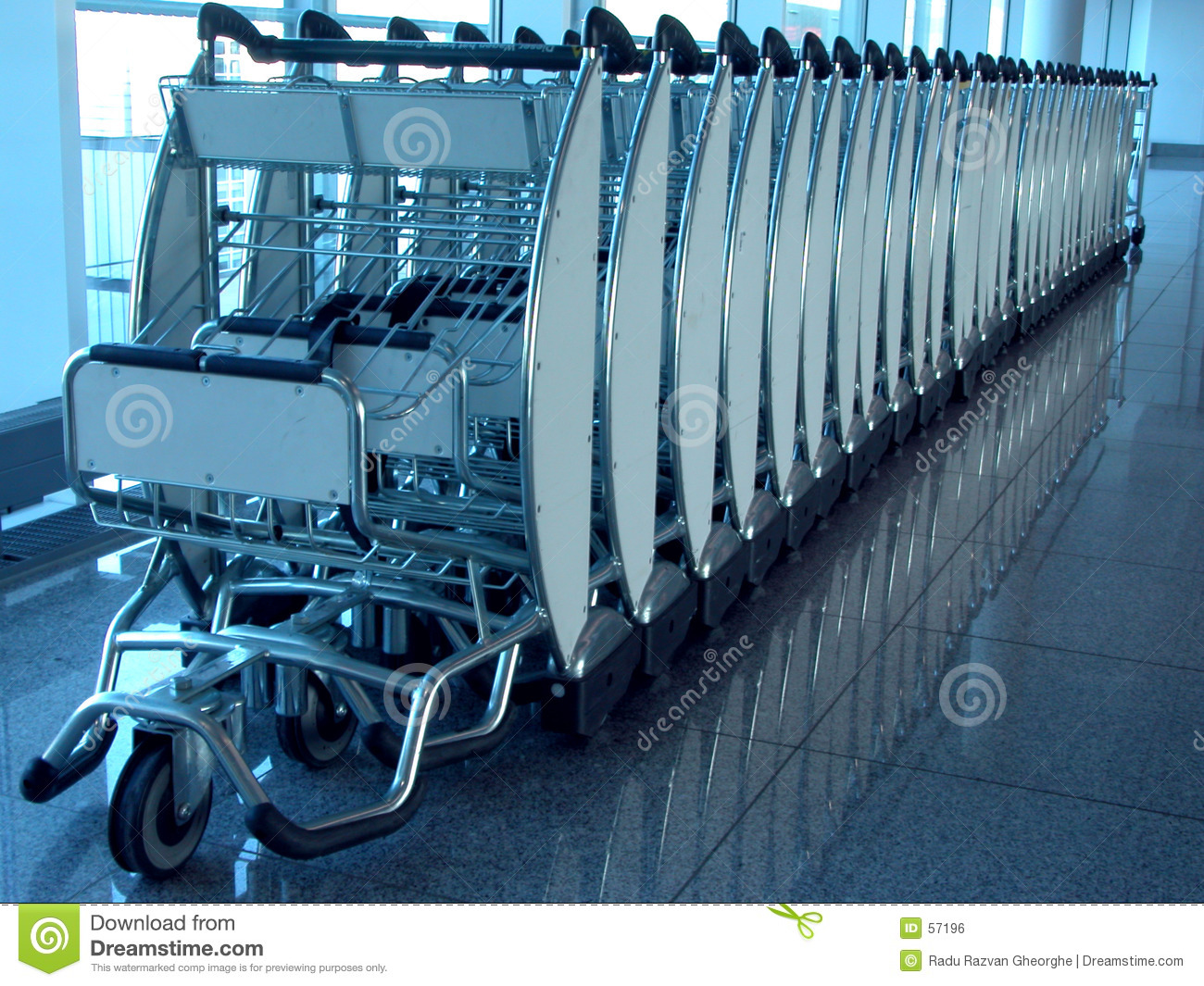Download Dispositif De Transporteur De Bagage. Photo stock - Image du bleu, image: 57196