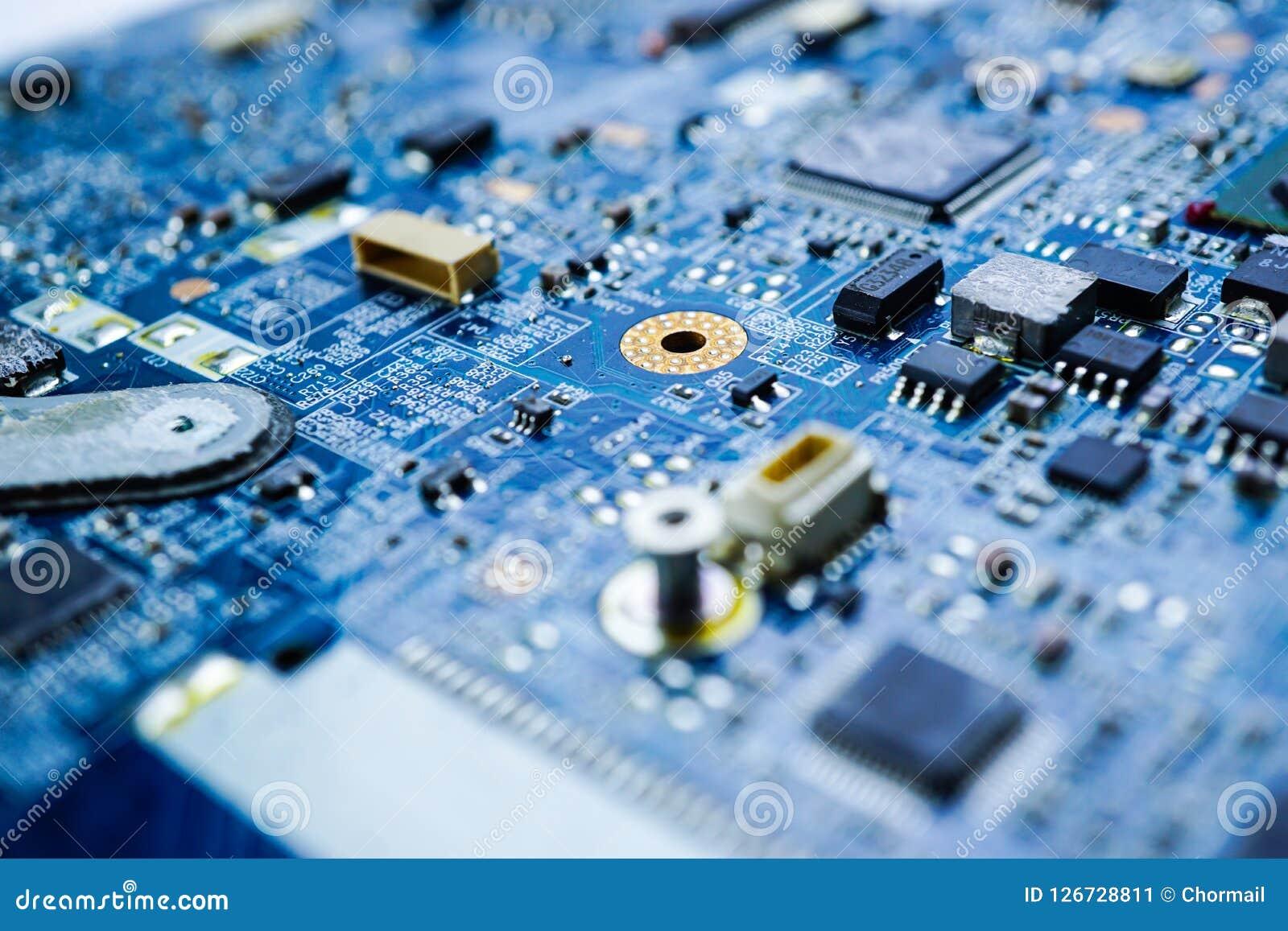 Dispositivo de la electrónica del procesador de la base del mainboard del microprocesador de la CPU del circuito de ordenador