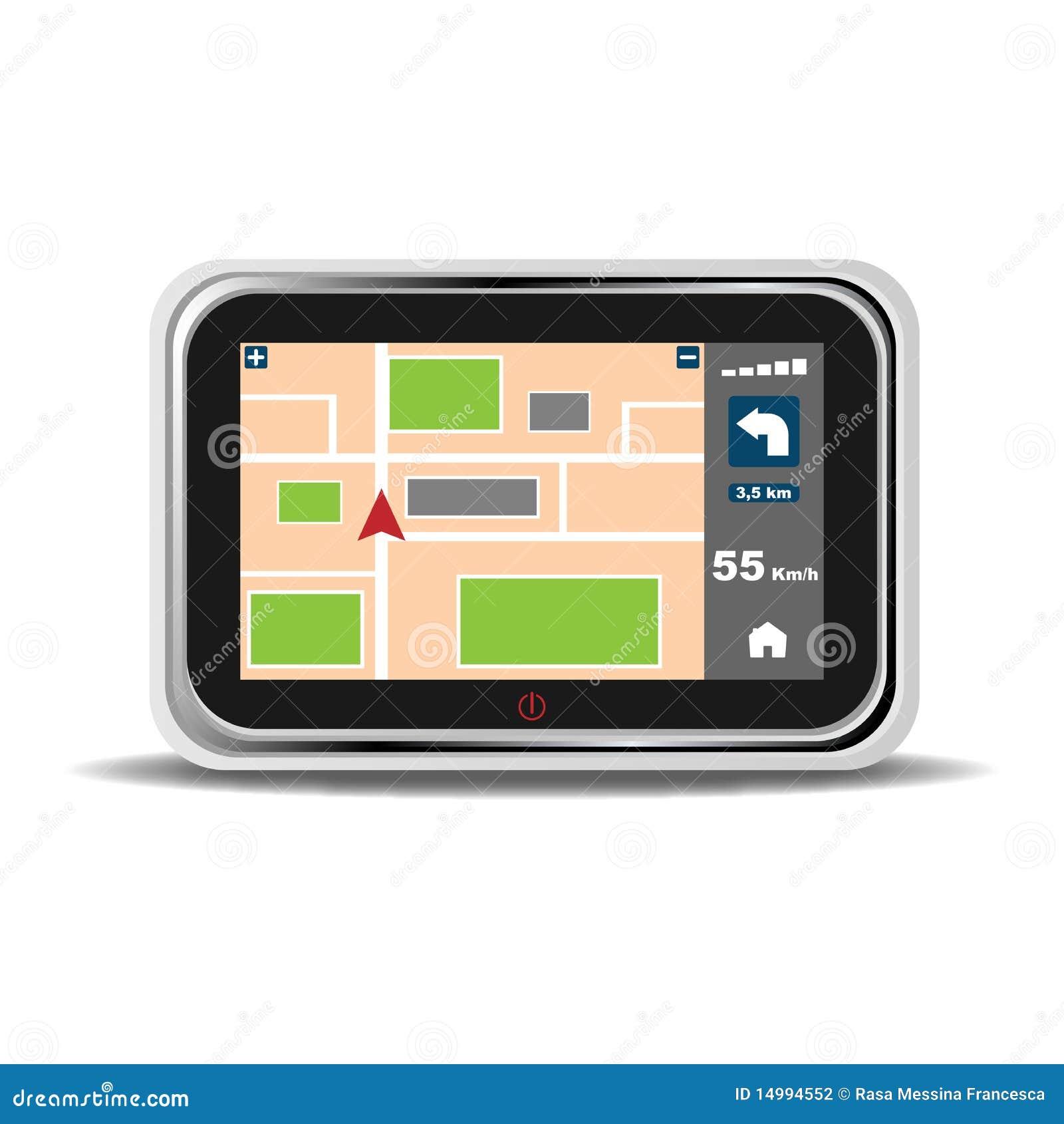 Dispositivo de la navegación de los Gps