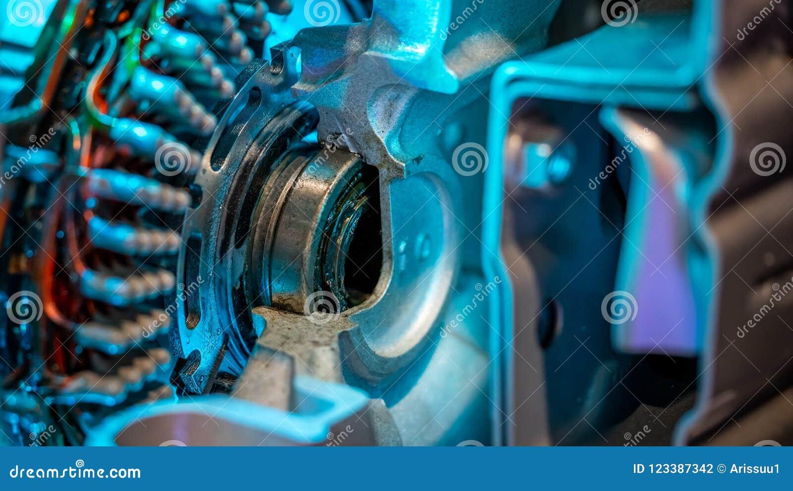 Dispositivo mecánico industrial del elemento del motor