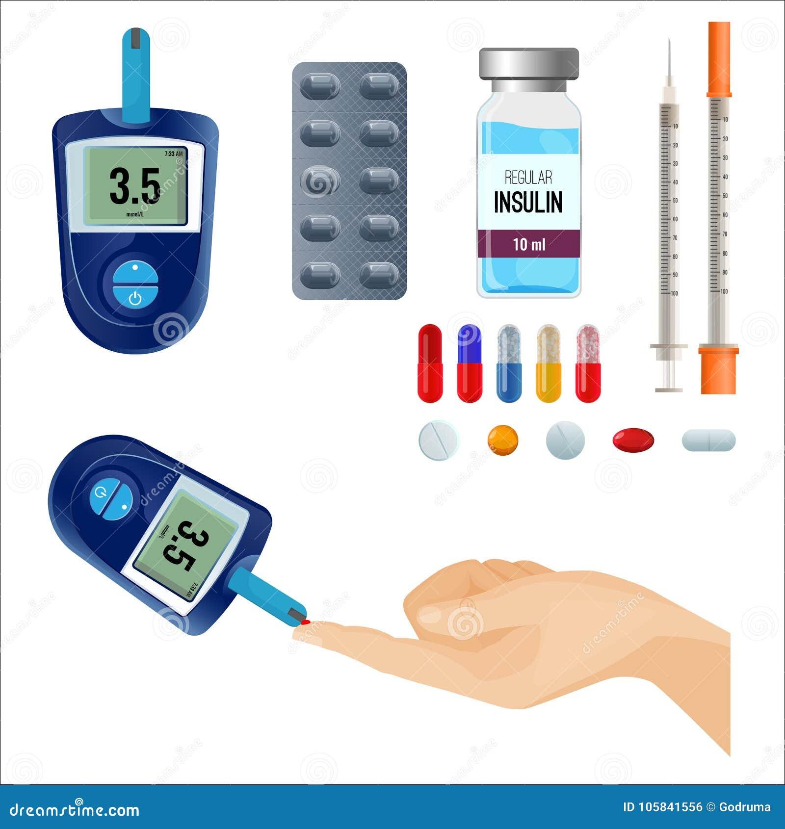 monitor de nivel de azúcar en la diabetes