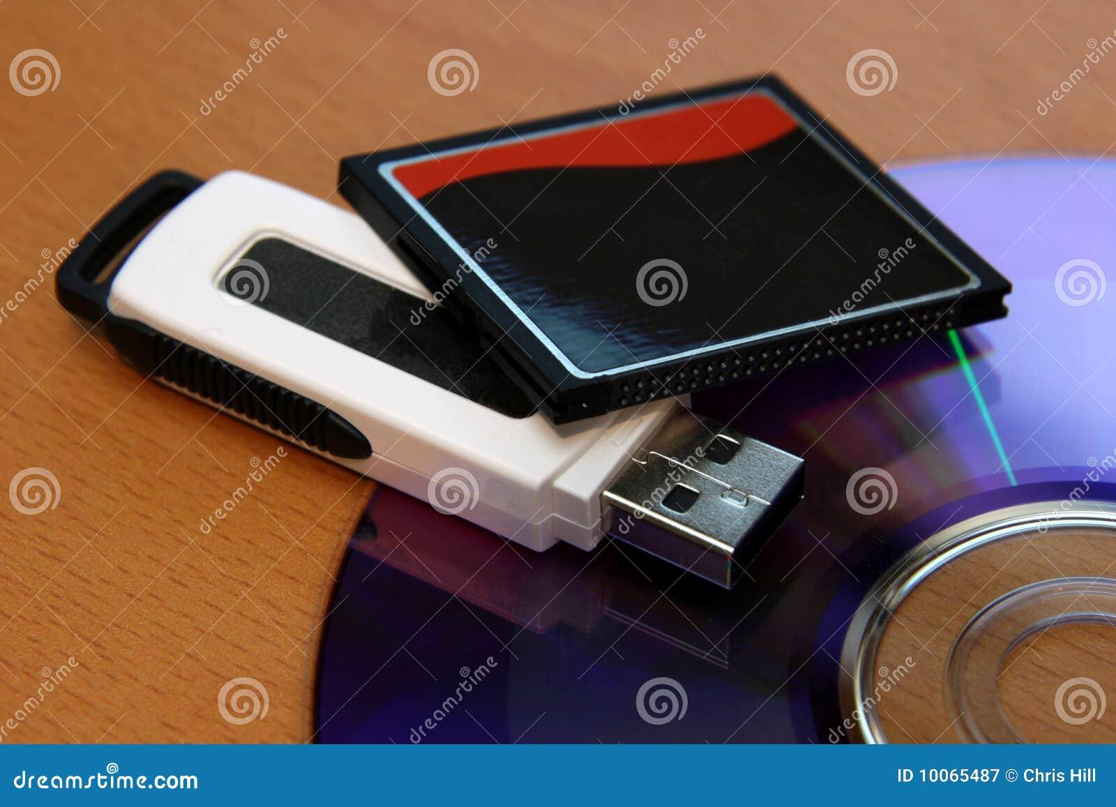 Dispositivos de armazenamento dos media