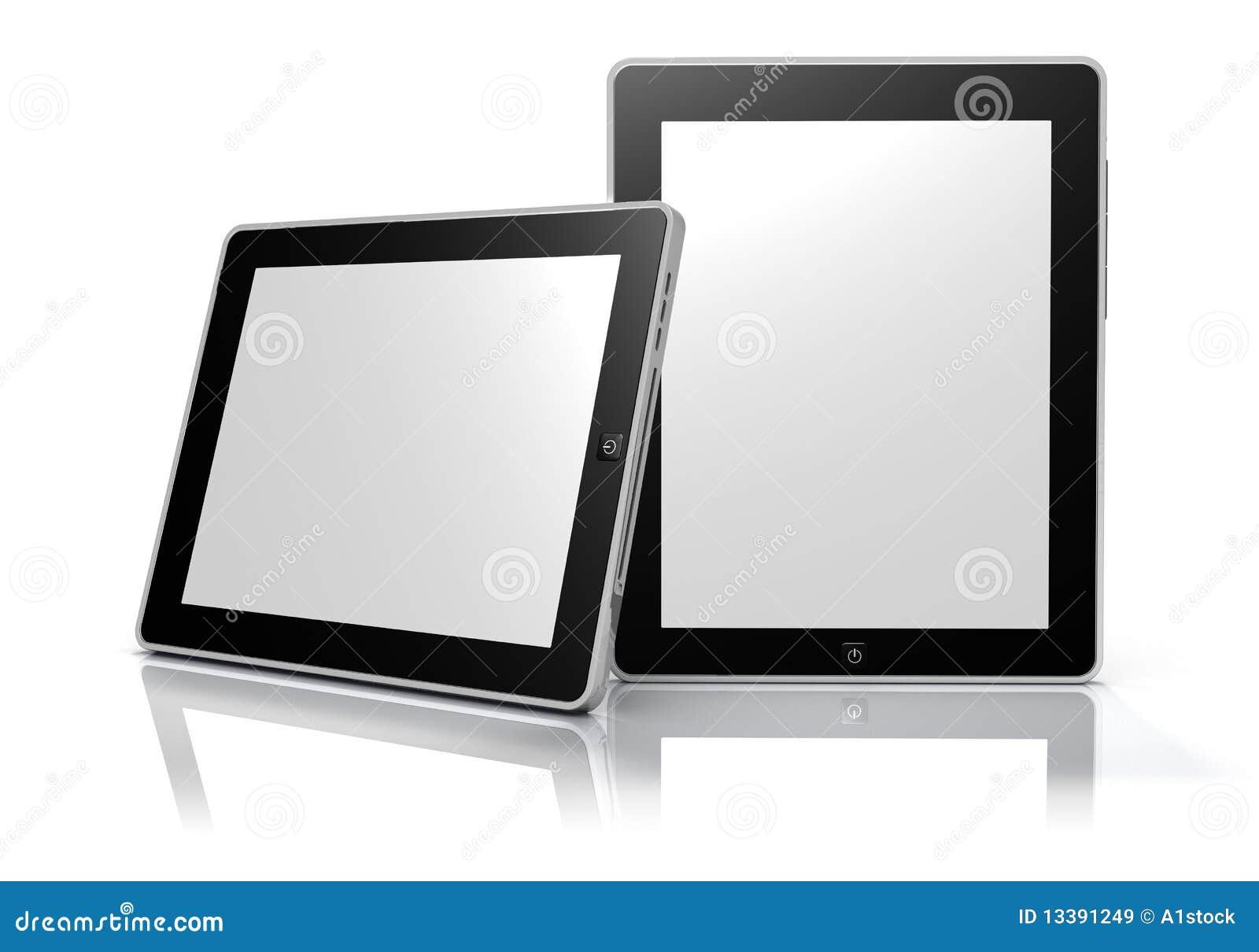 Dispositivos de la tablilla de la pantalla táctil (camino de recortes)
