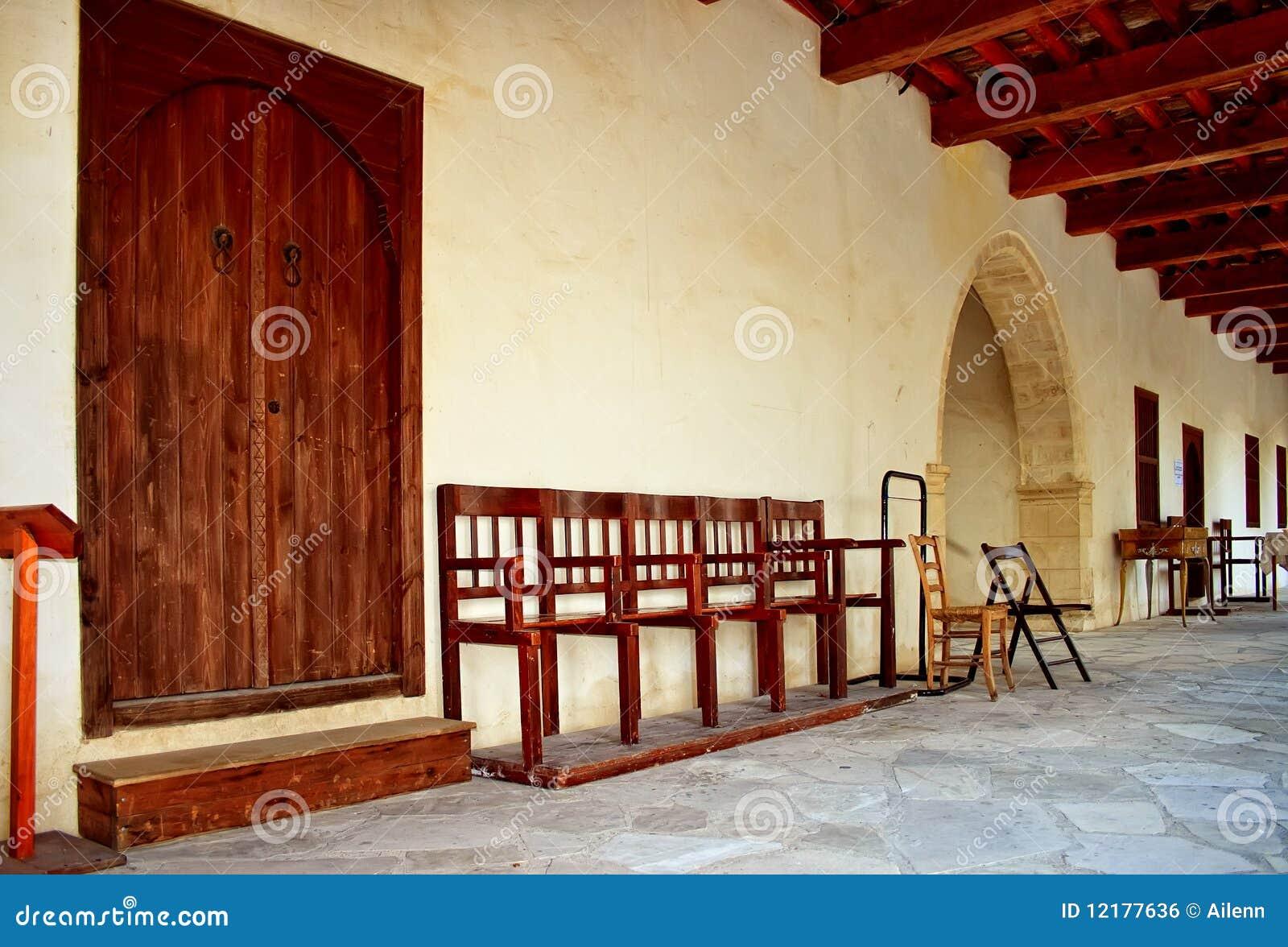 Disposizione dei posti a sedere della chiesa fotografia for Disposizione della casa libera