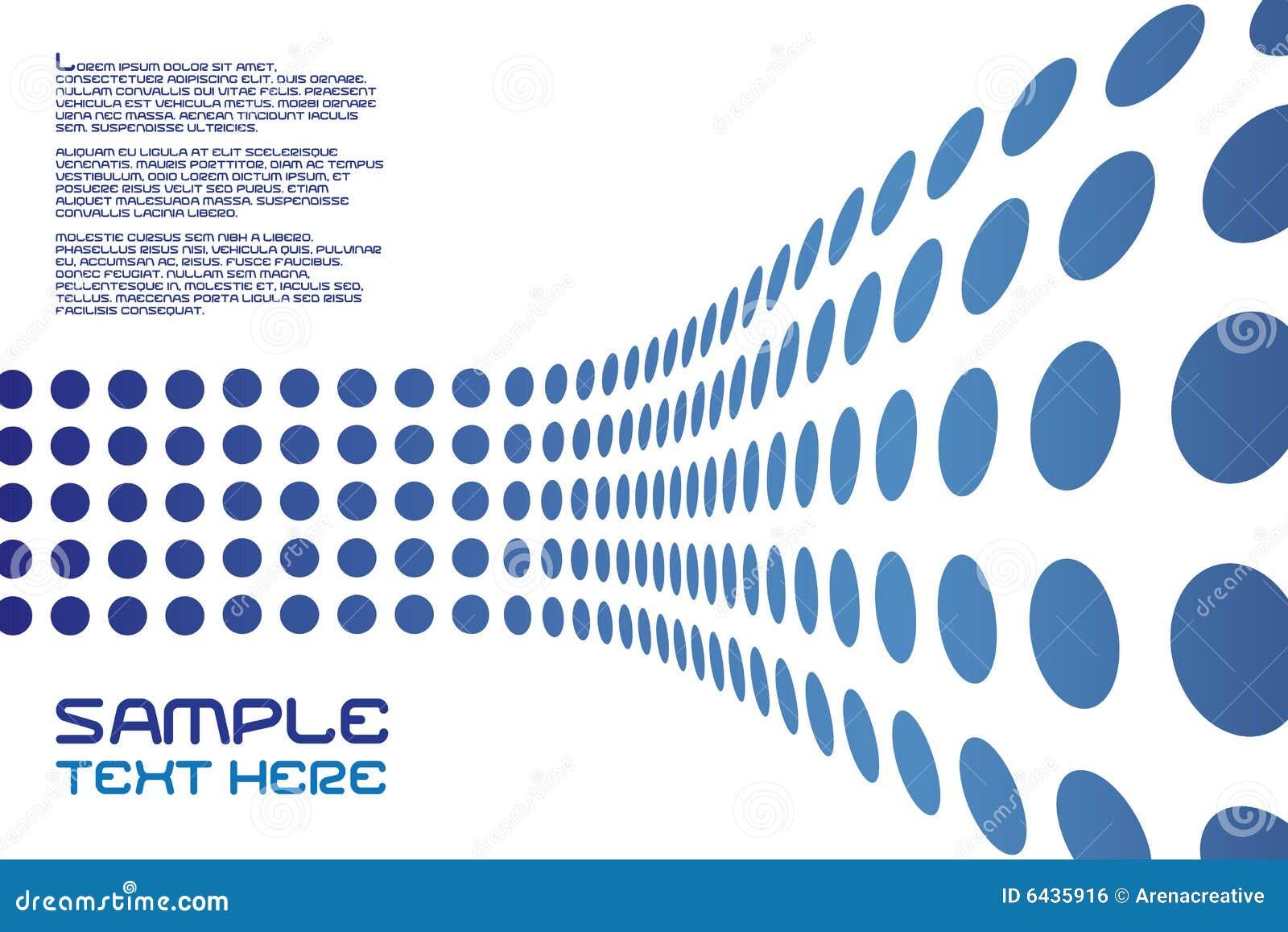 Disposizione della parete dei puntini illustrazione for Disposizione della casa libera