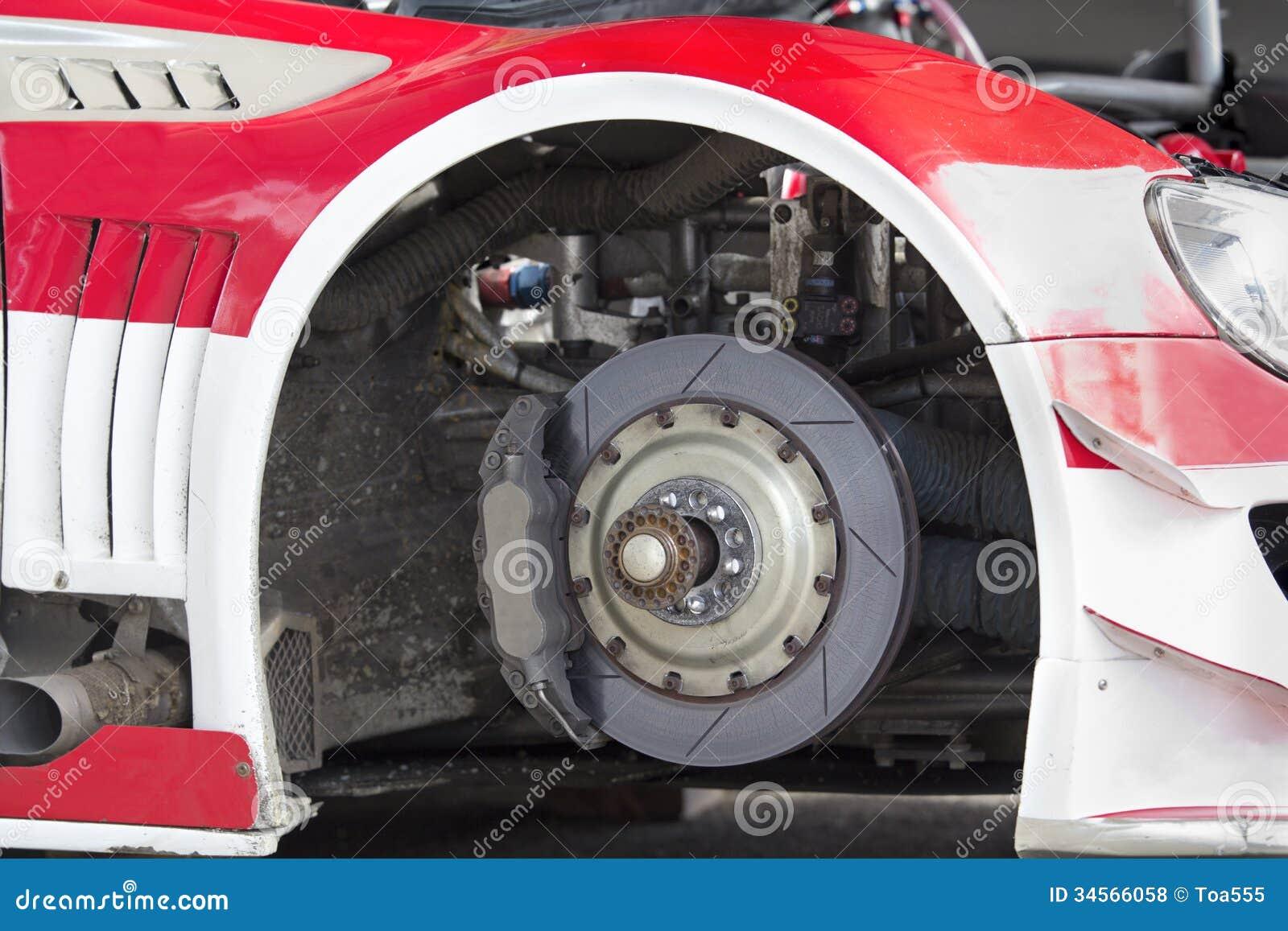disque de frein de voiture de sport photos libres de droits image 34566058. Black Bedroom Furniture Sets. Home Design Ideas