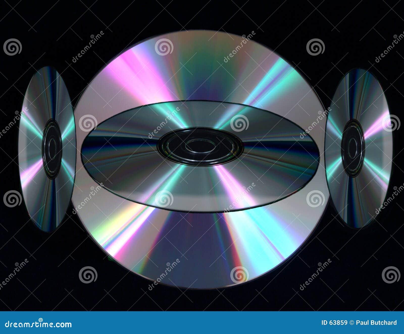 Download Disques Compacts De Digitals Image stock - Image du copie, abstrait: 63859