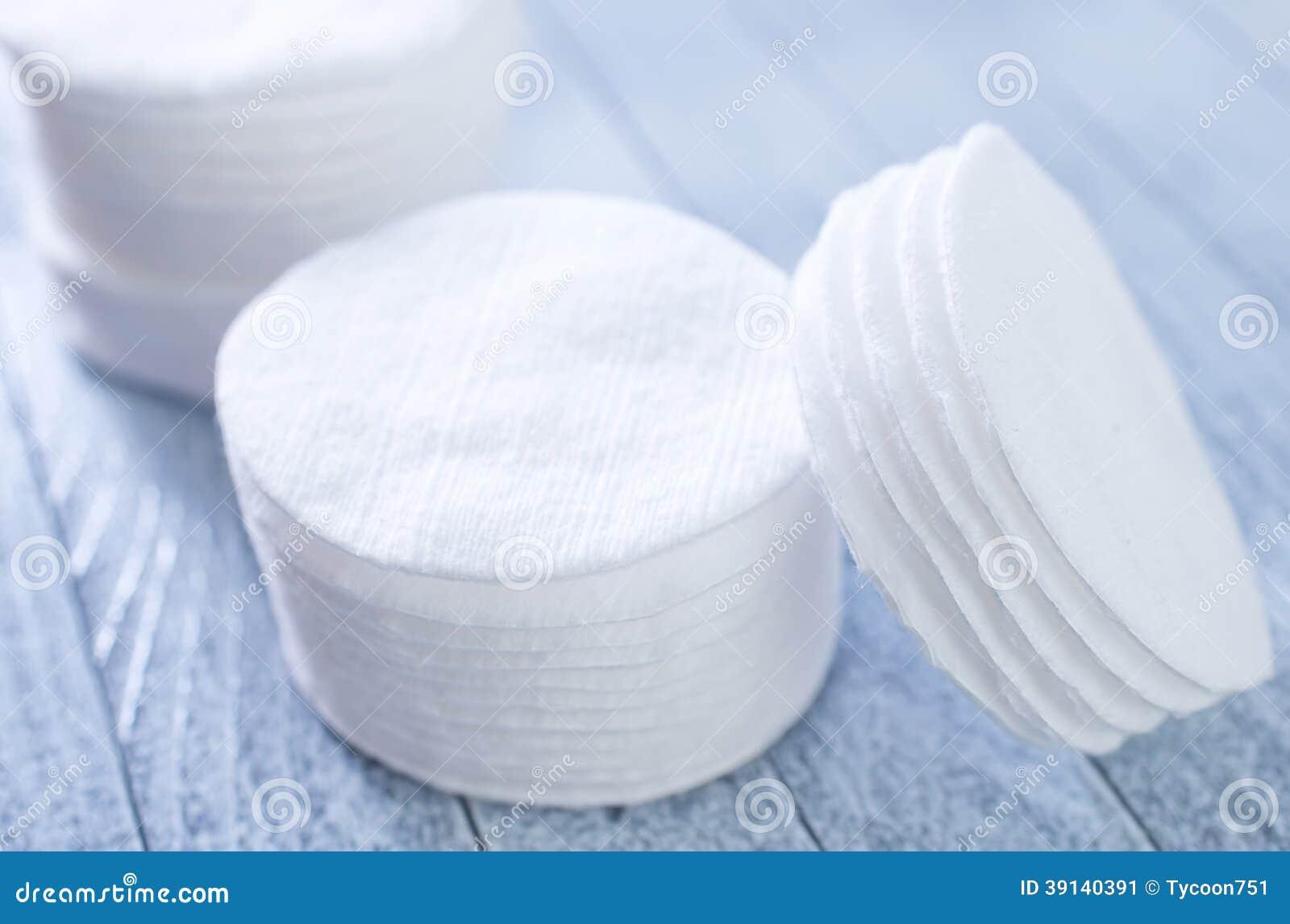 Disques de coton