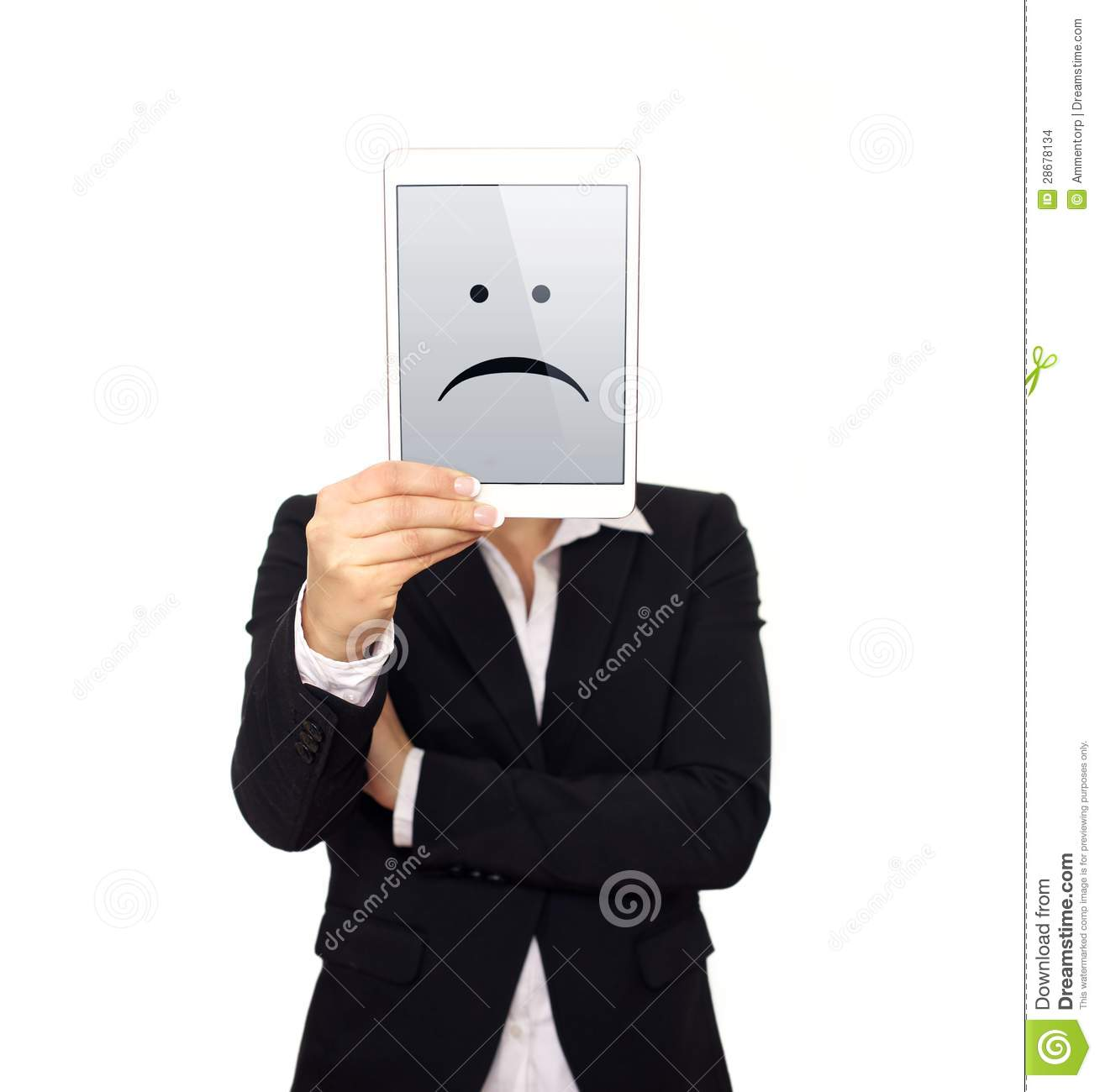 Dissatisfied Business Executive