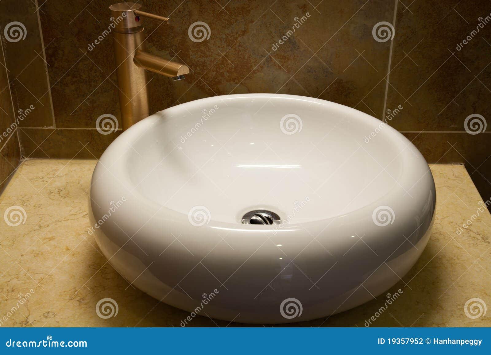 Dissipador do banheiro
