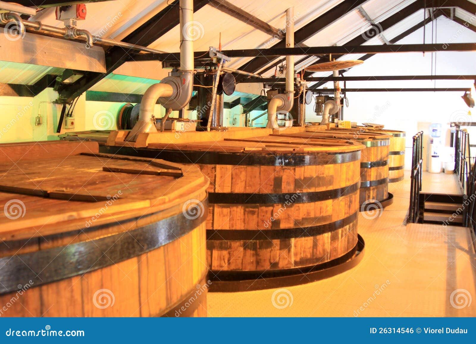 Distilleria del whisky