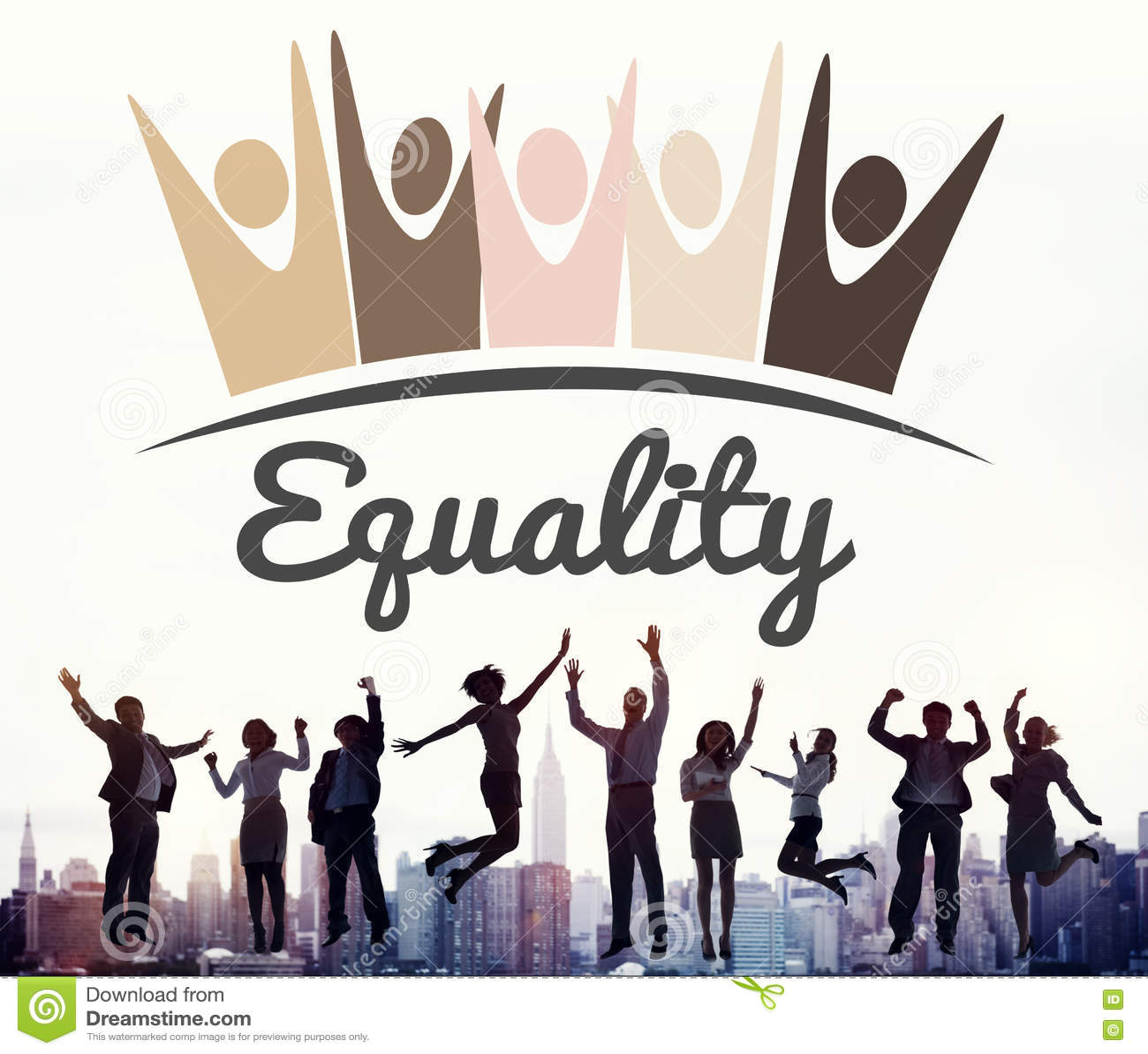 Distinzione razzista Conce di diritti fondamentali di imparzialità di uguaglianza