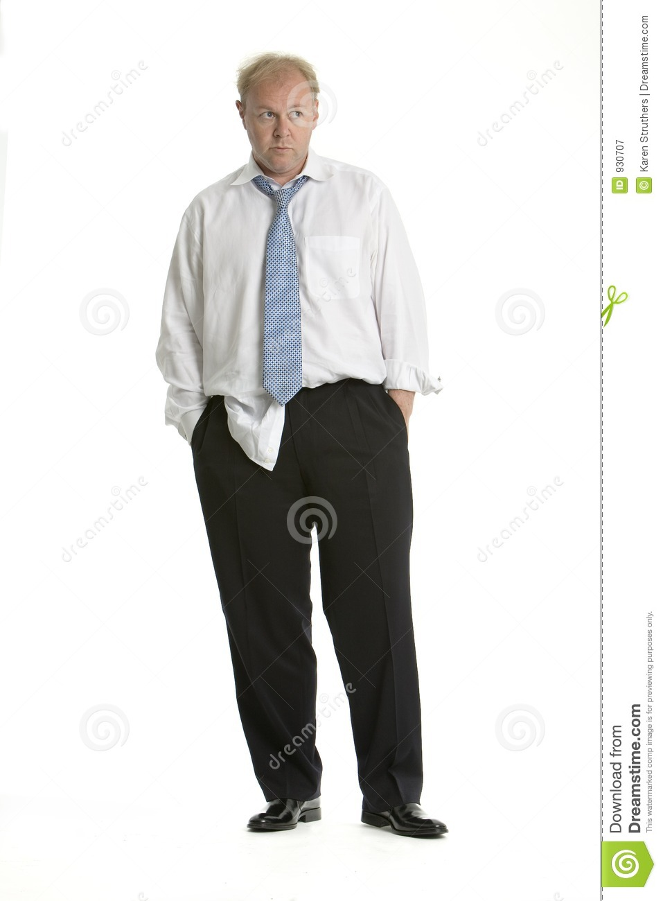 Distracted And Rumpled Business Man Royalty Free Stock Photography ...