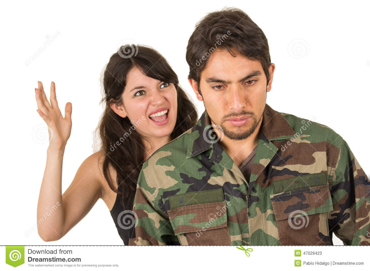 A ptsd dating veteran with PTSD And