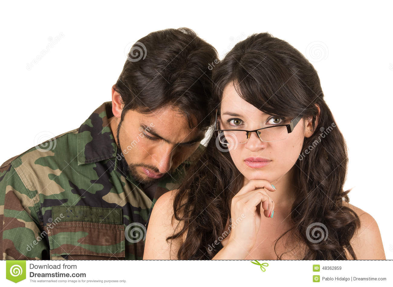 A ptsd dating veteran with Partners of