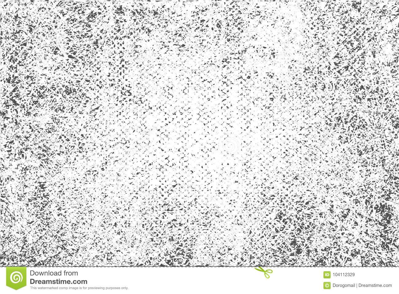 Distress, Dirt Texture  Vector Illustration  Grunge Background