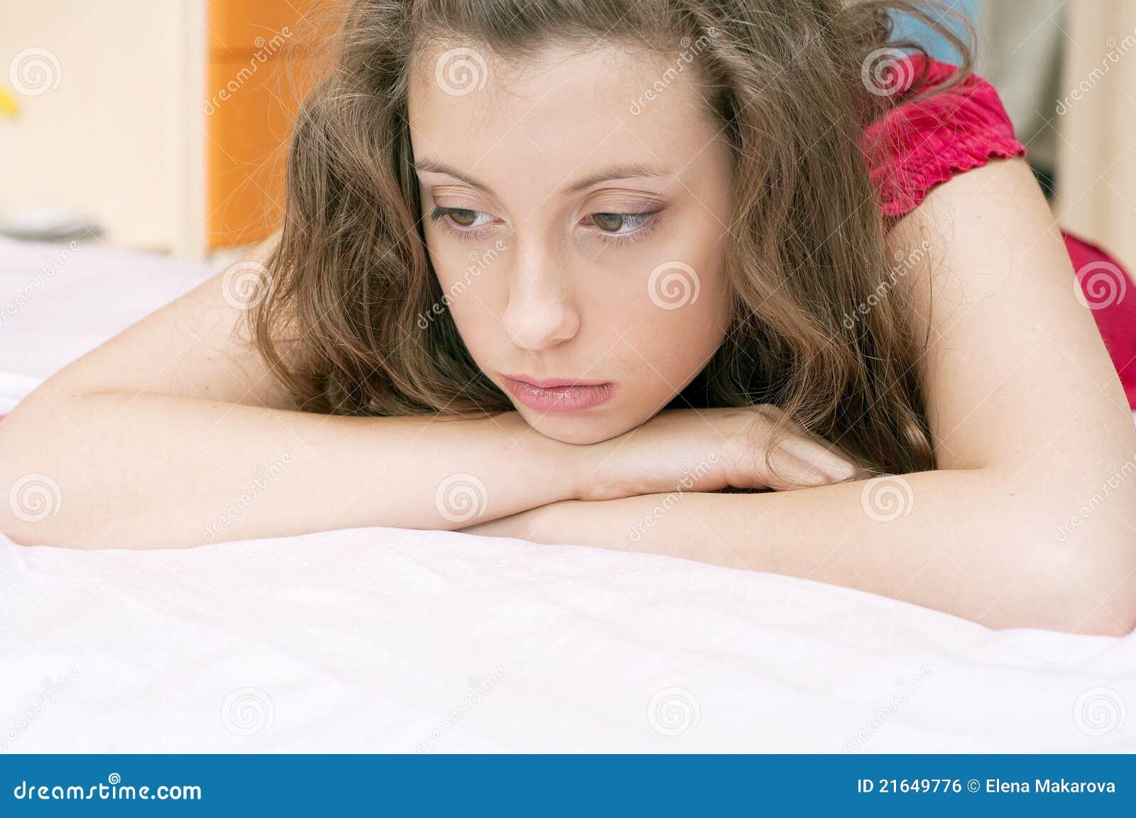 Distressed girl 2