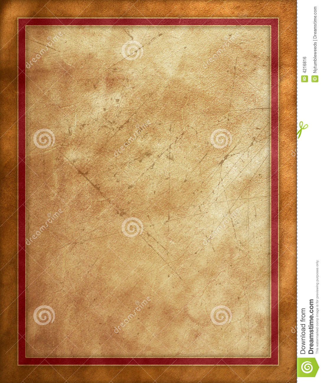 Distressed Leather Background Stock Illustration