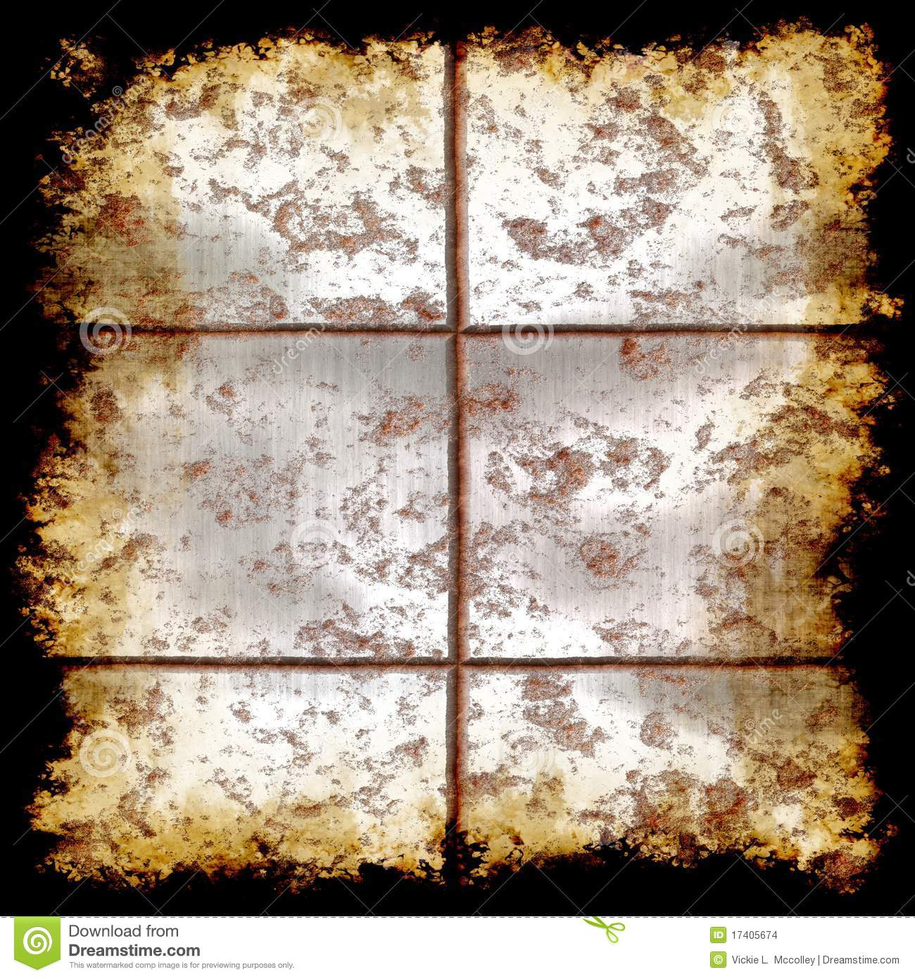 Distressed Metal Grunge Texture Stock Images Image 17405674