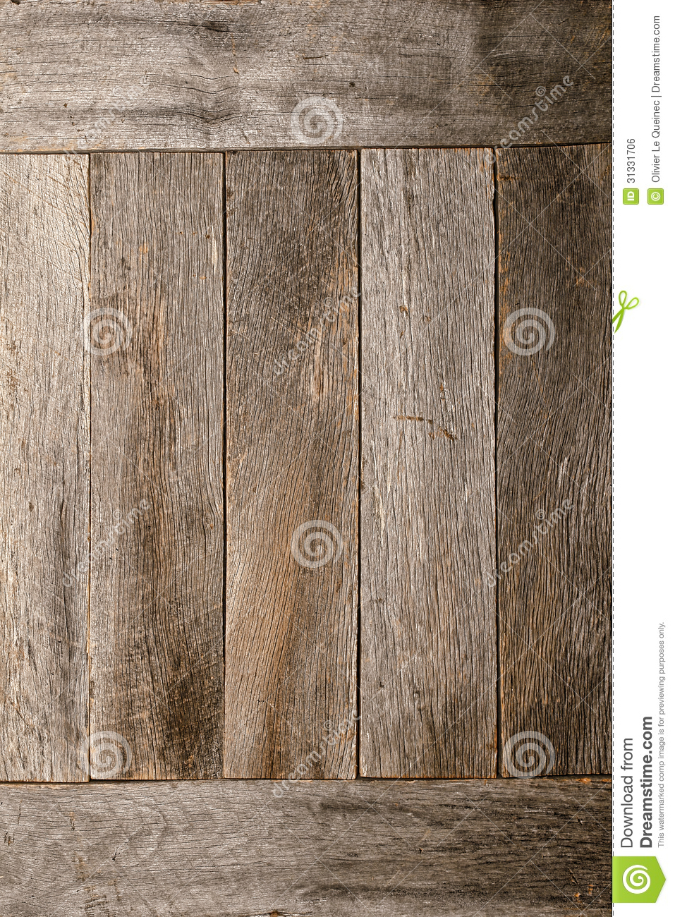 Distressed Old Barn Wood Boards Wall Background Royalty