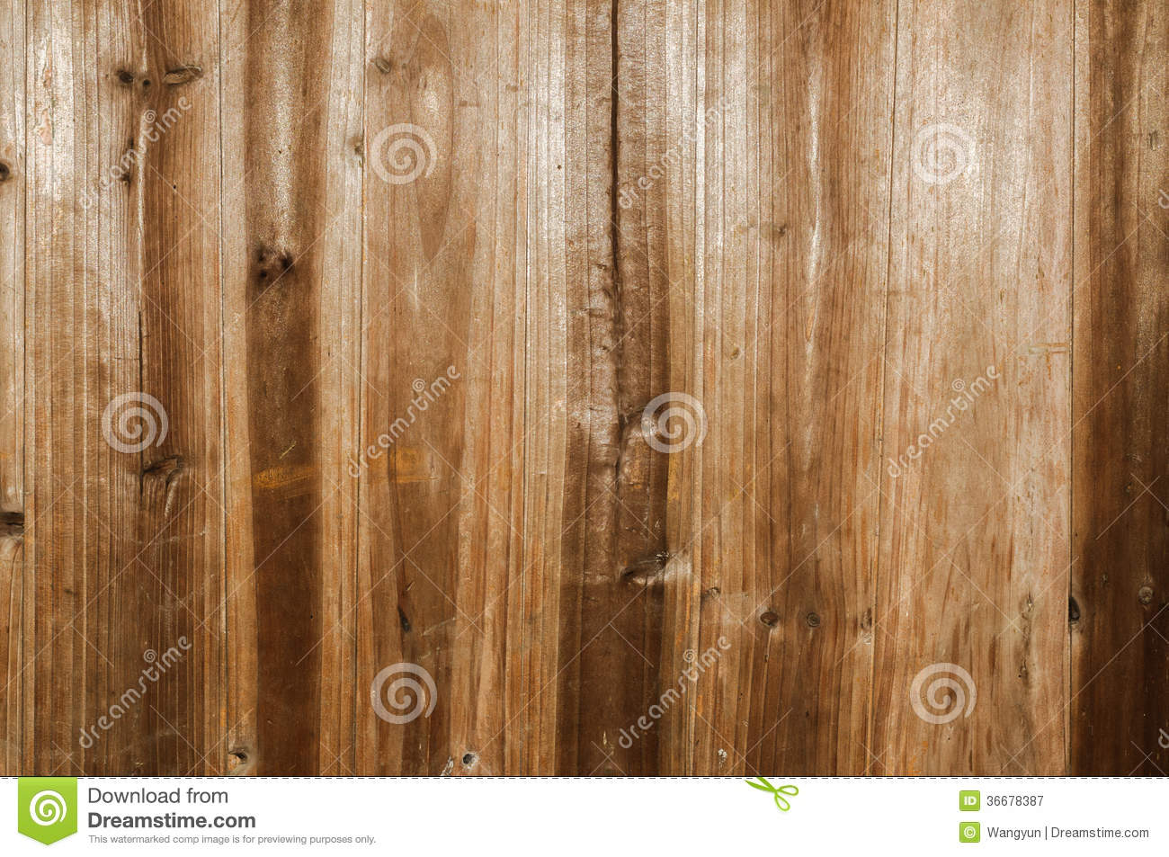 Distressed Old Wood Plank Boards Background Royalty Free