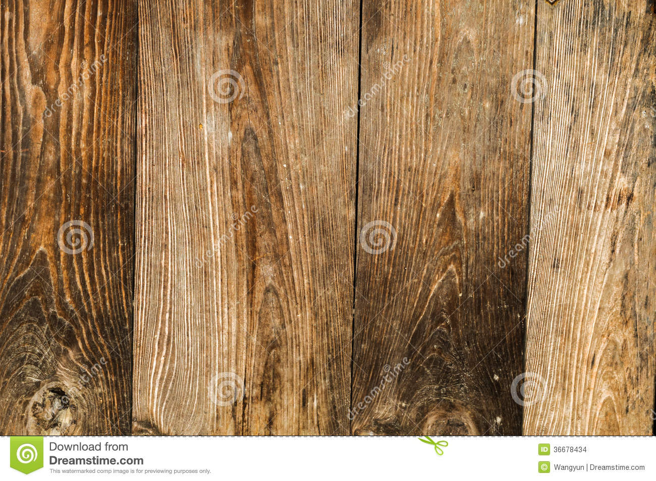 Distressed Old Wood Plank Boards Background Stock Photo