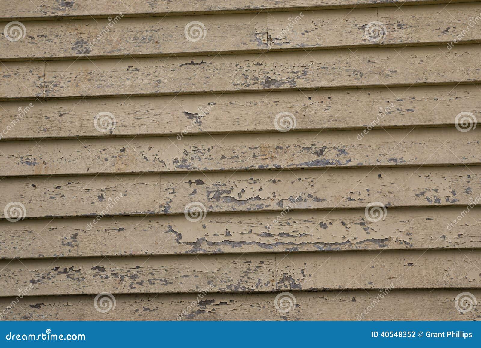 Distressed weatherboard