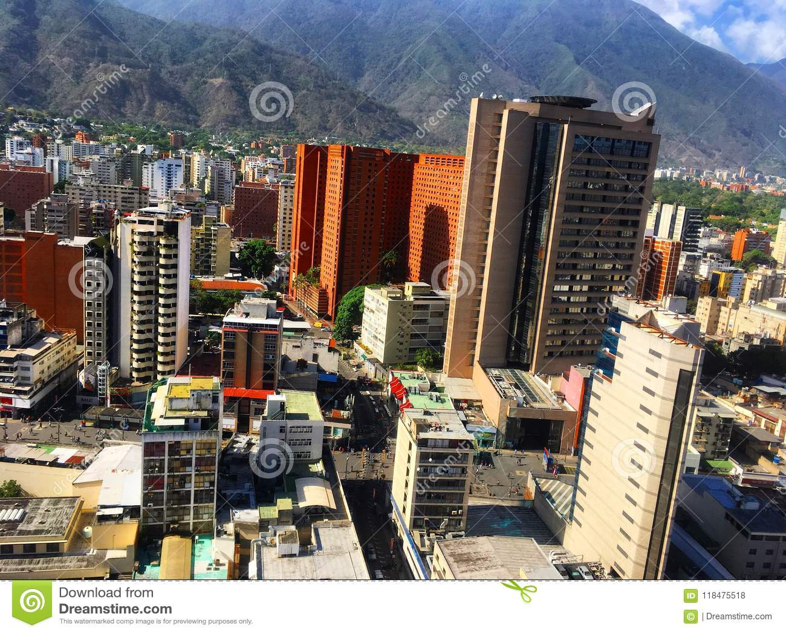 Distretto aziendale grande di Sabana Caracas Venezuela