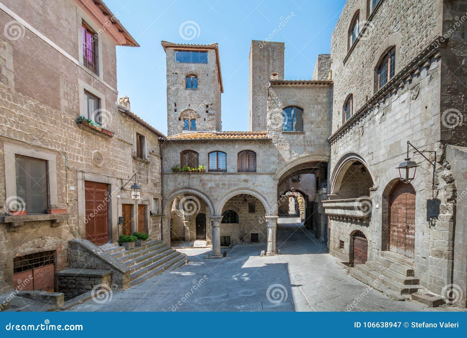 Distretto di Pellegrino del san a Viterbo, Lazio Italia