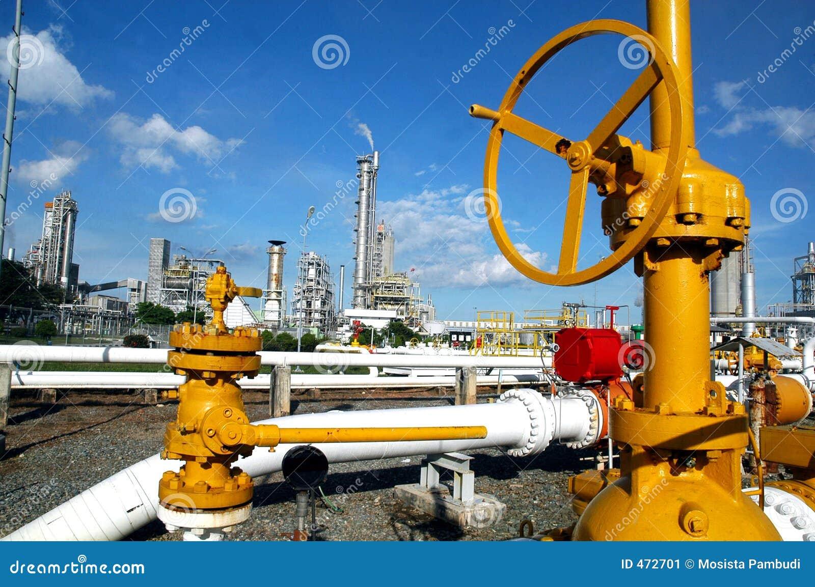 Distribuição do gás