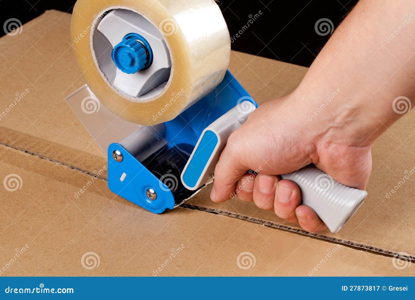 Distributeur de empaquetage de bande