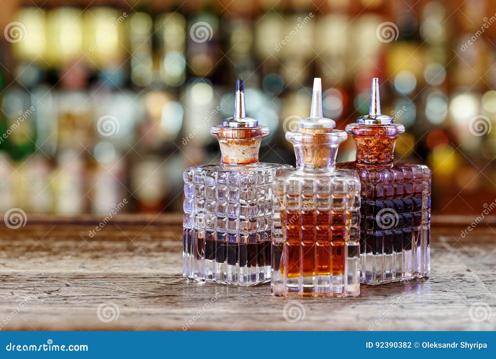 Distributeurs pour des sirops