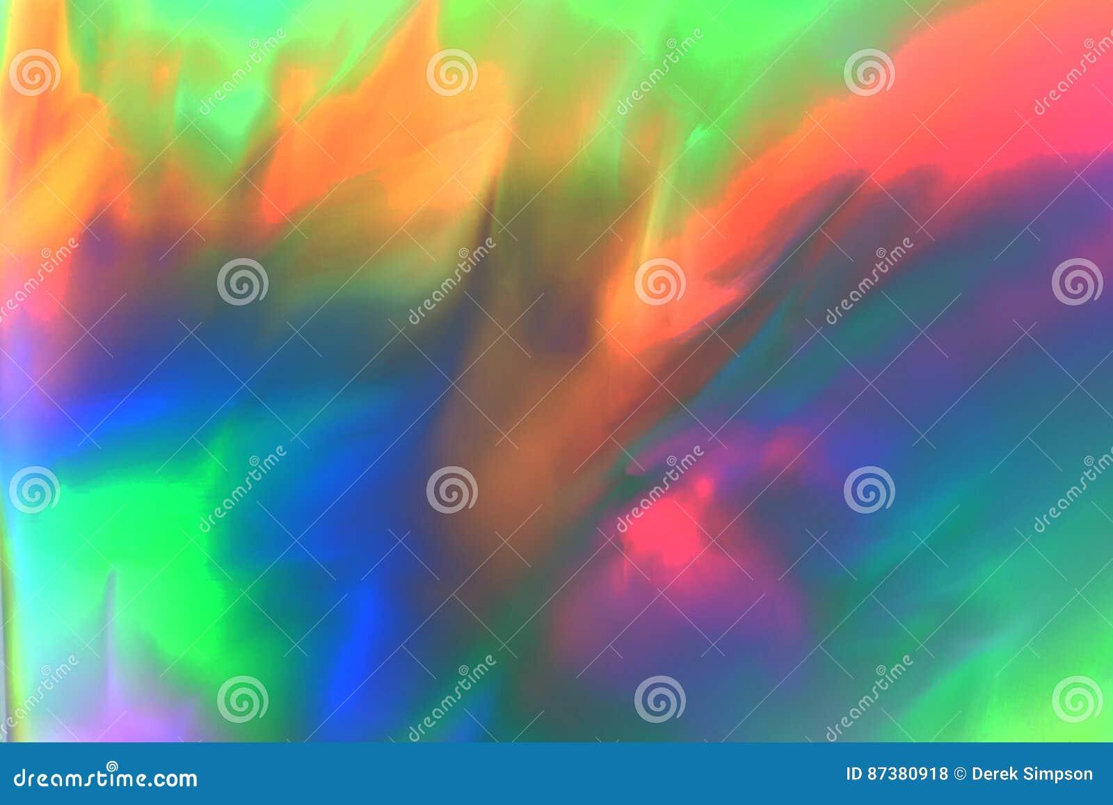 Distribution abstraite psychédélique colorée d effort d apparence